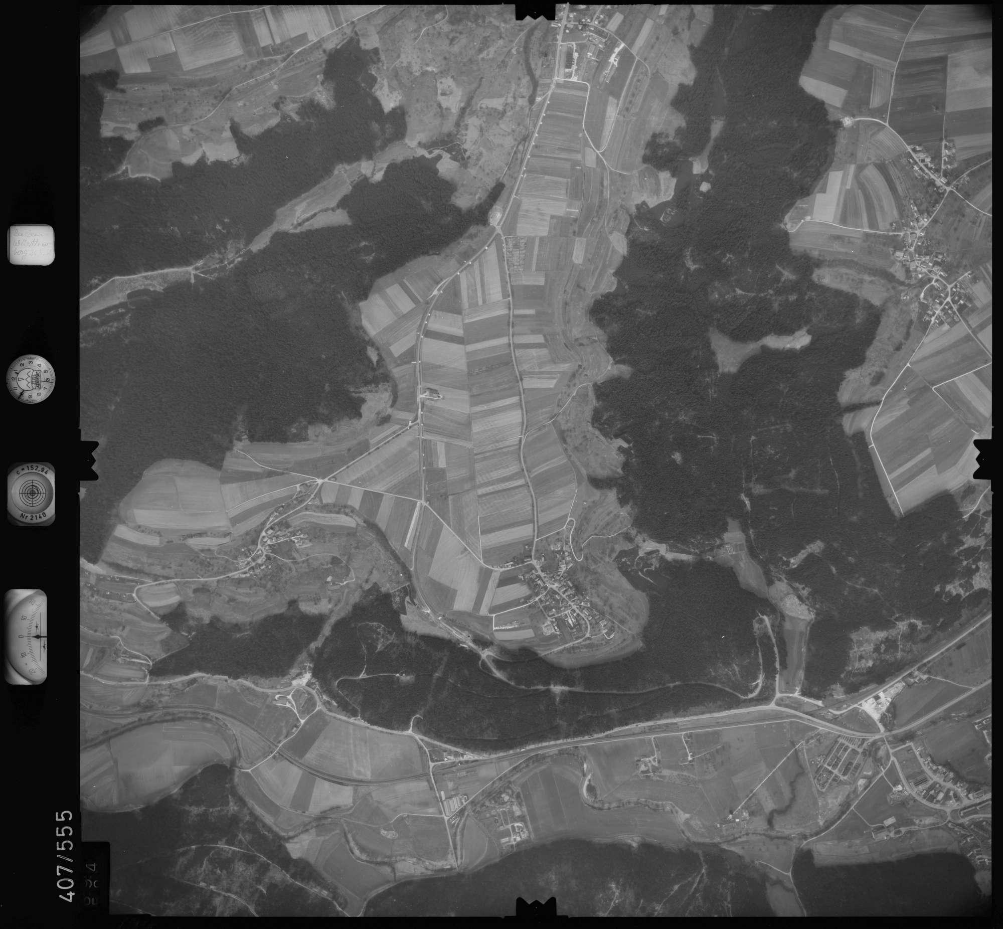 Luftbild: Film 7 Bildnr. 694, Bild 1