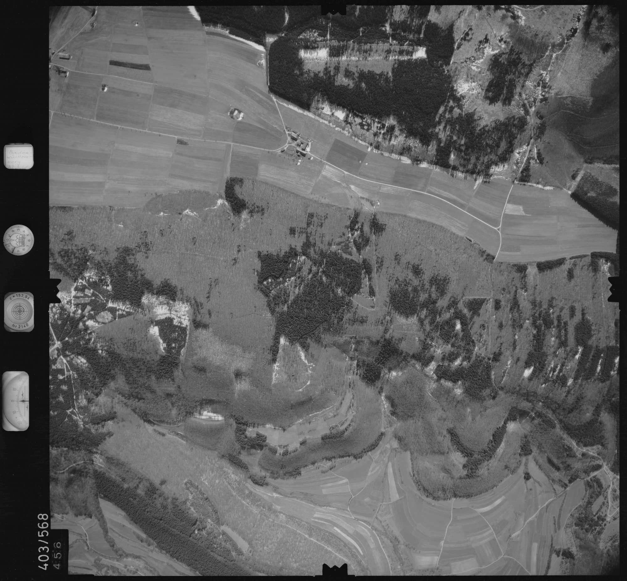 Luftbild: Film 10 Bildnr. 456, Bild 1
