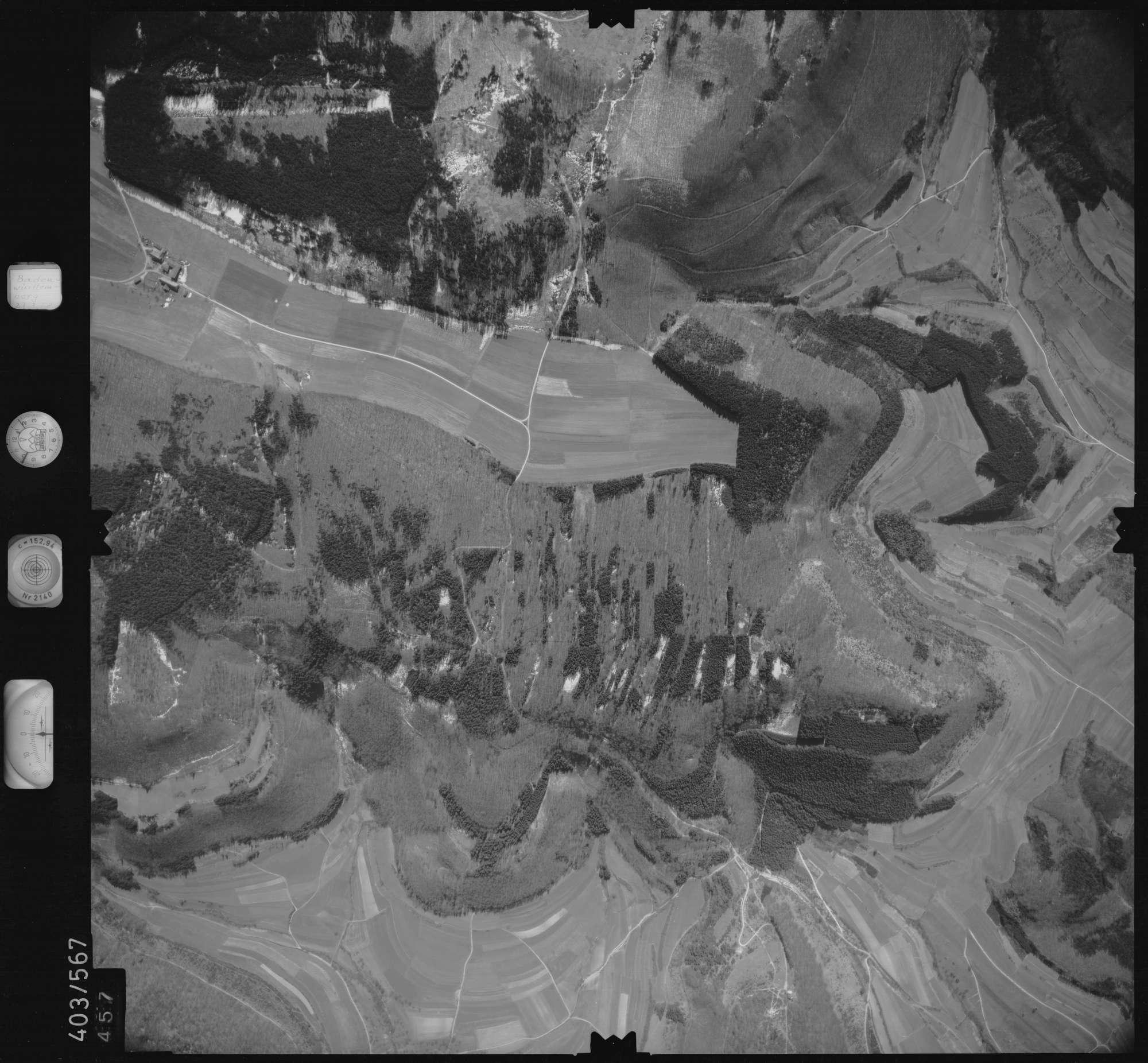Luftbild: Film 10 Bildnr. 457, Bild 1
