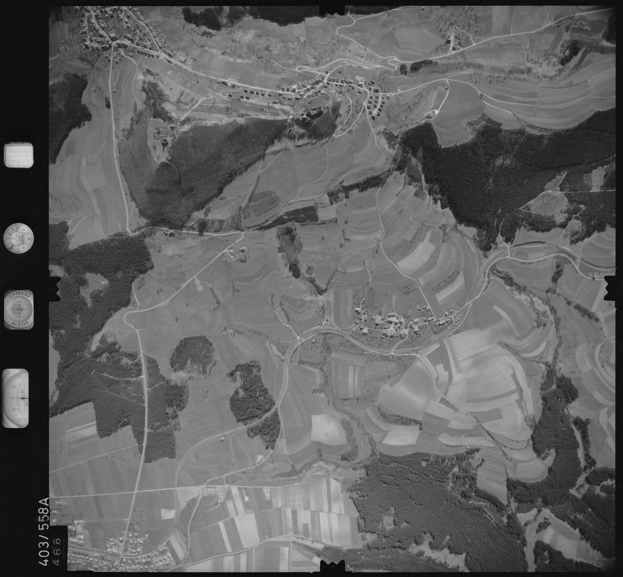 Luftbild: Film 10 Bildnr. 466, Bild 1