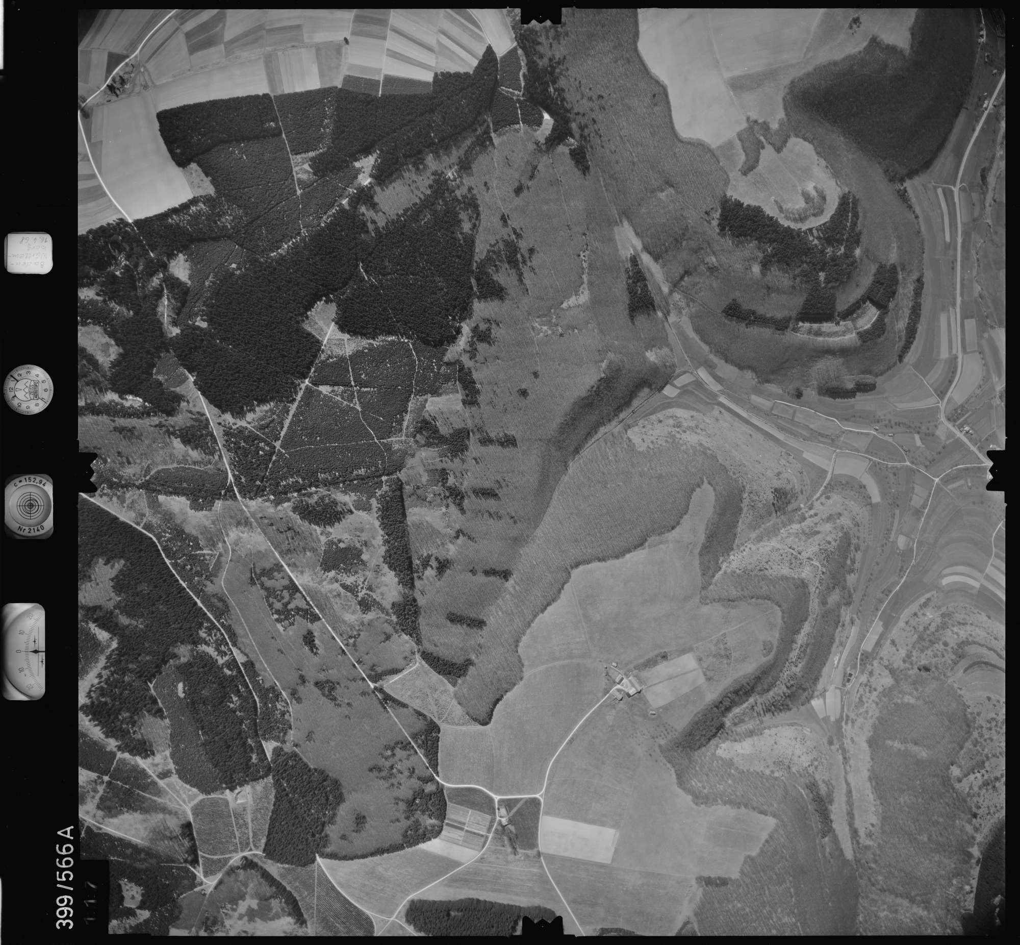 Luftbild: Film 32 Bildnr. 117, Bild 1
