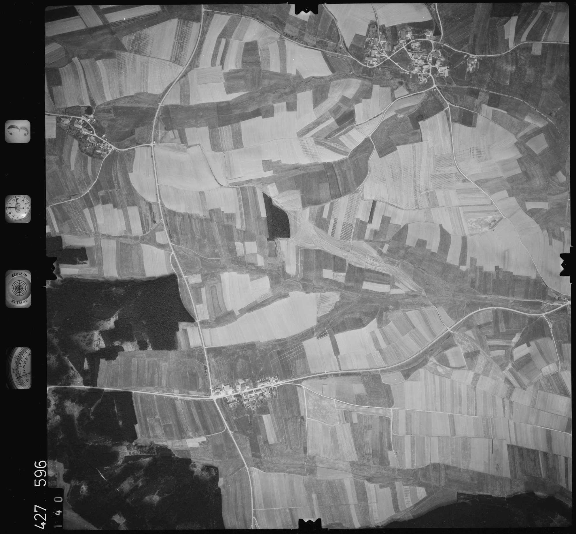 Luftbild: Film 3 Bildnr. 140, Bild 1