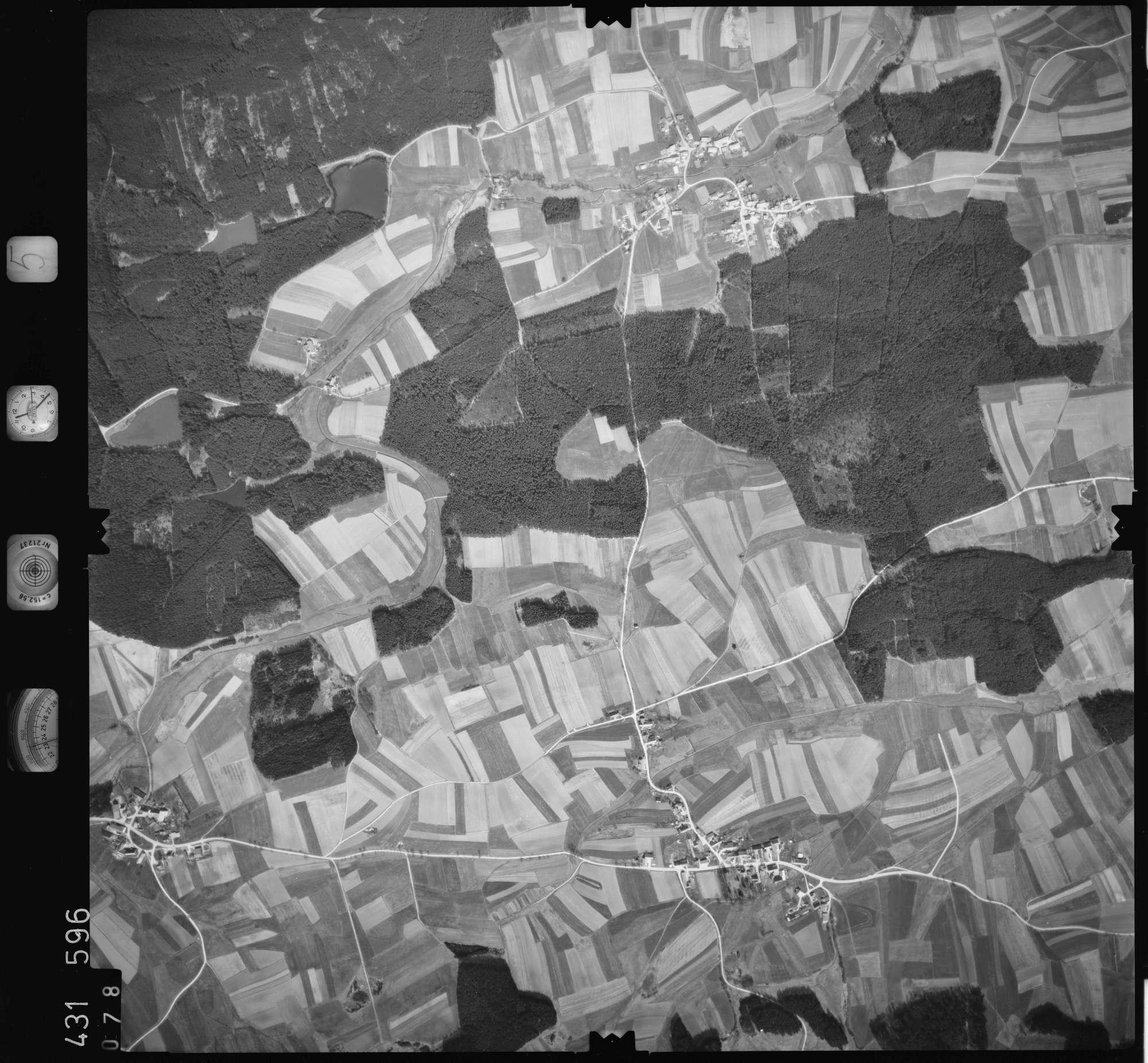 Luftbild: Film 5 Bildnr. 78, Bild 1