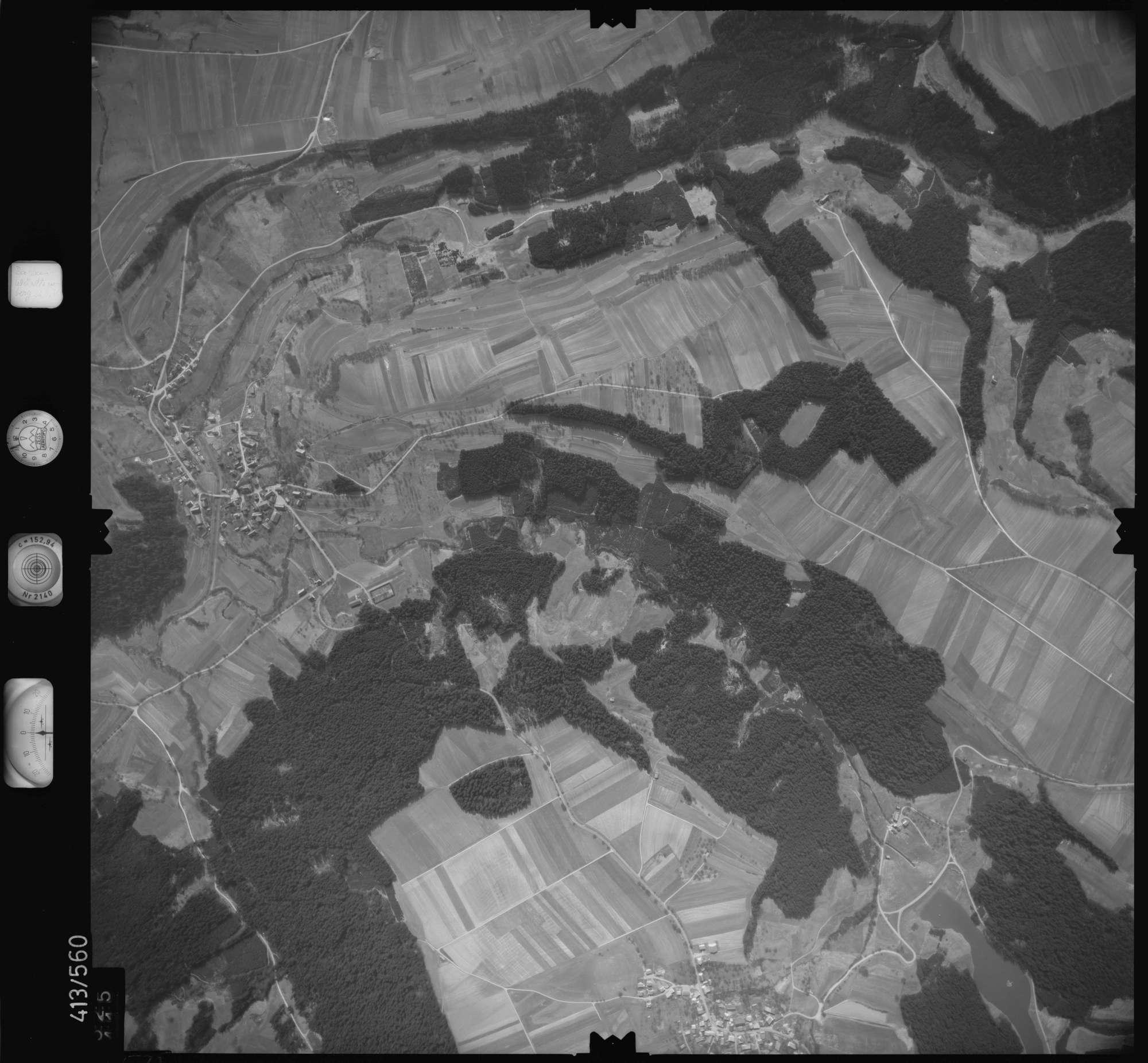 Luftbild: Film 6 Bildnr. 525, Bild 1