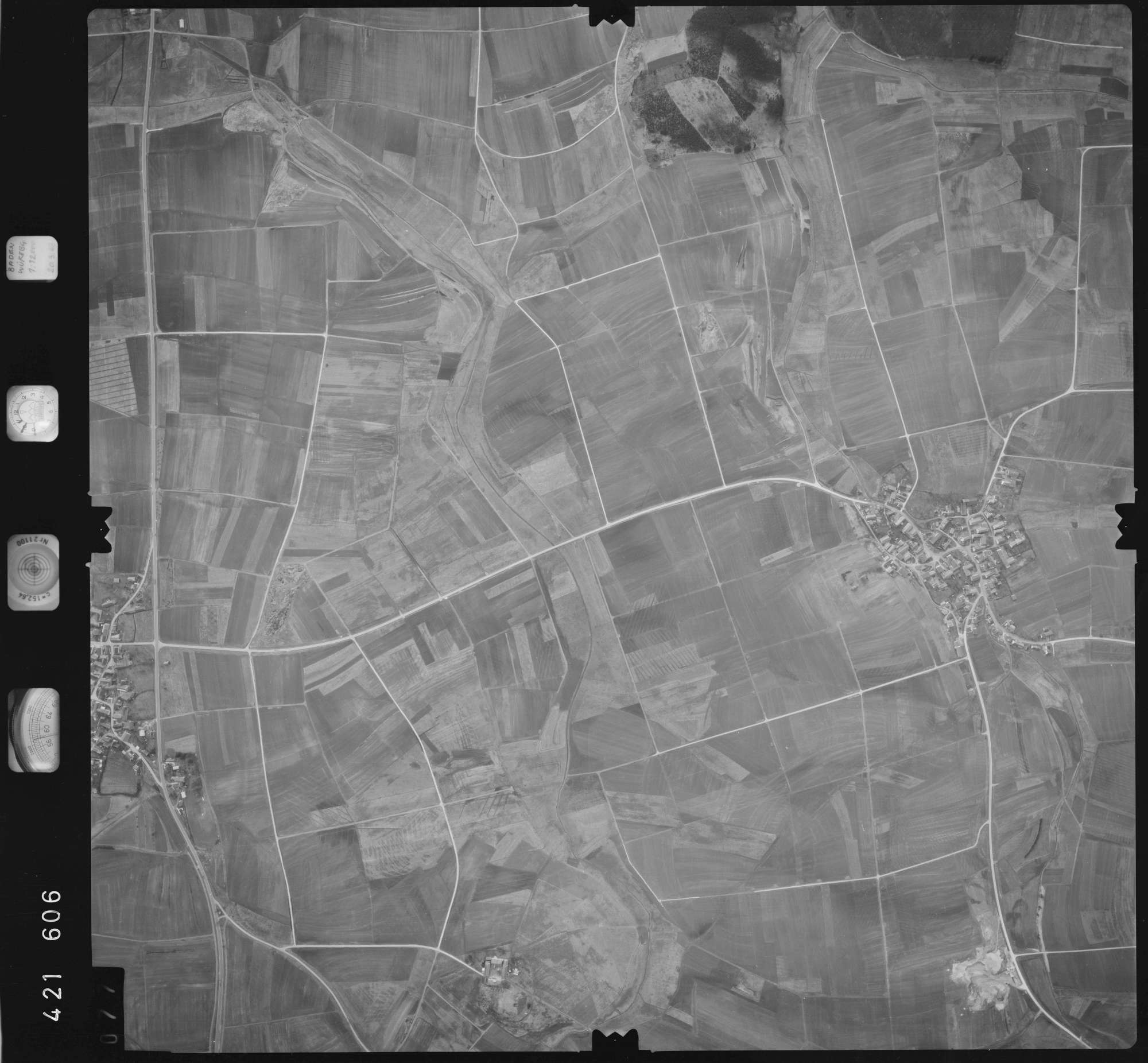 Luftbild: Film 1 Bildnr. 77, Bild 1