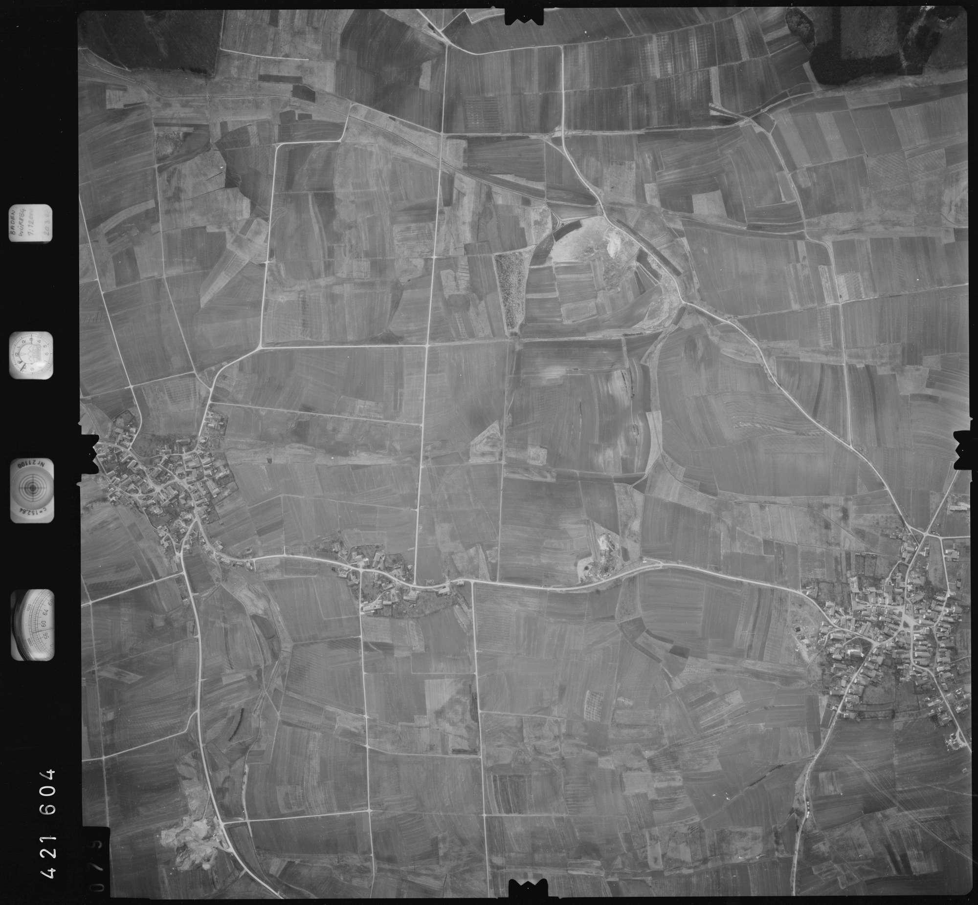Luftbild: Film 1 Bildnr. 79, Bild 1