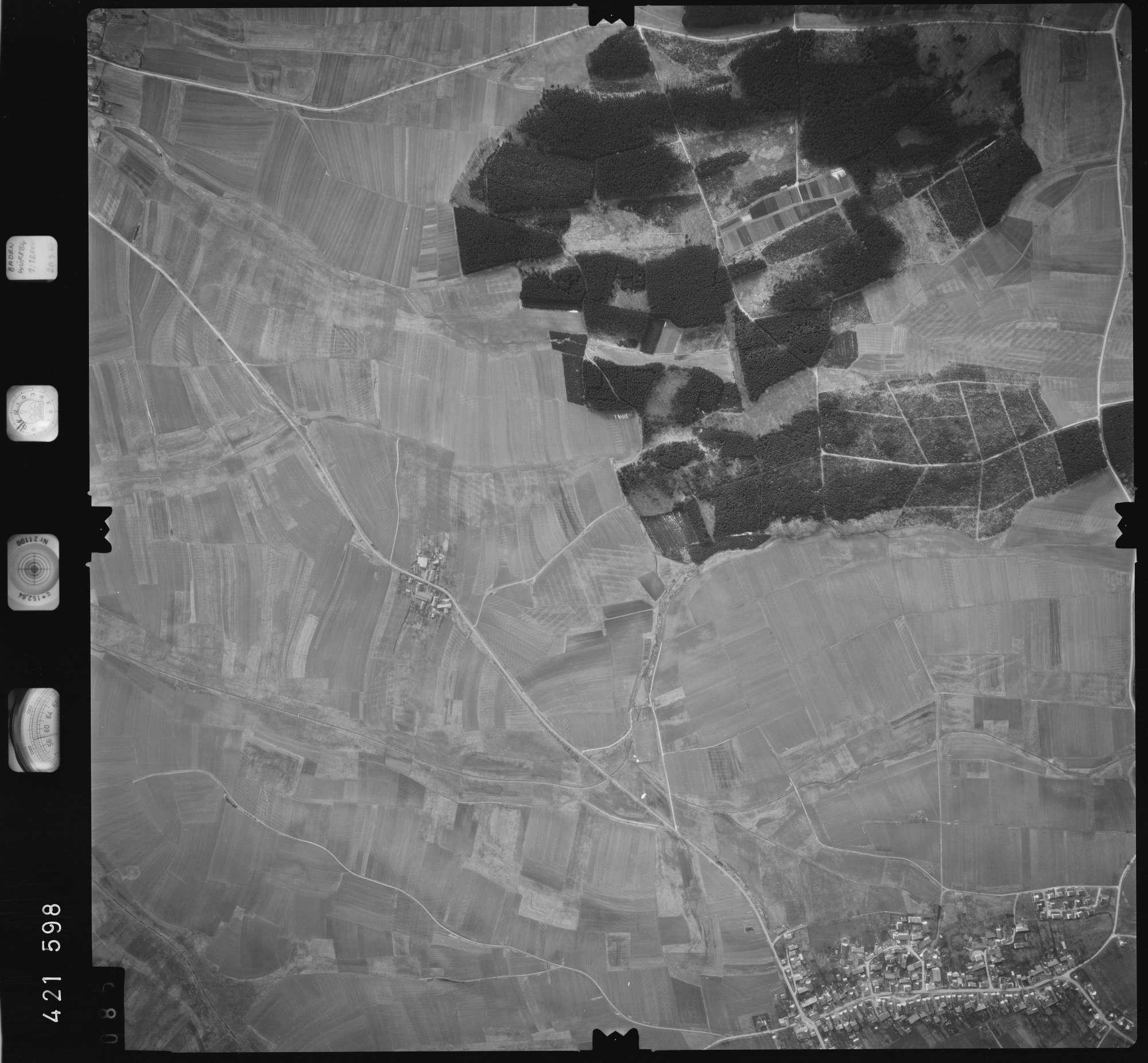 Luftbild: Film 1 Bildnr. 85, Bild 1