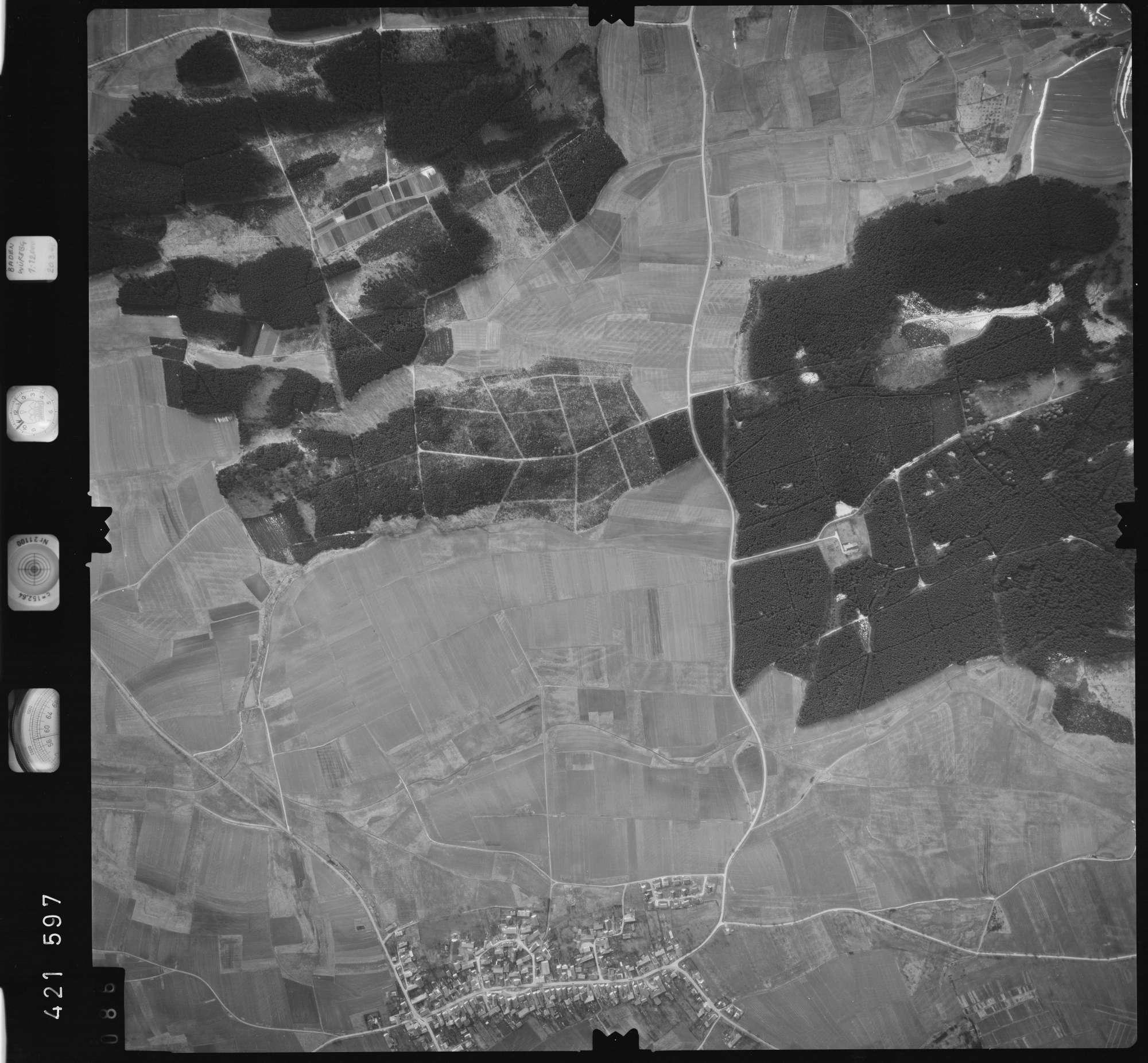 Luftbild: Film 1 Bildnr. 86, Bild 1