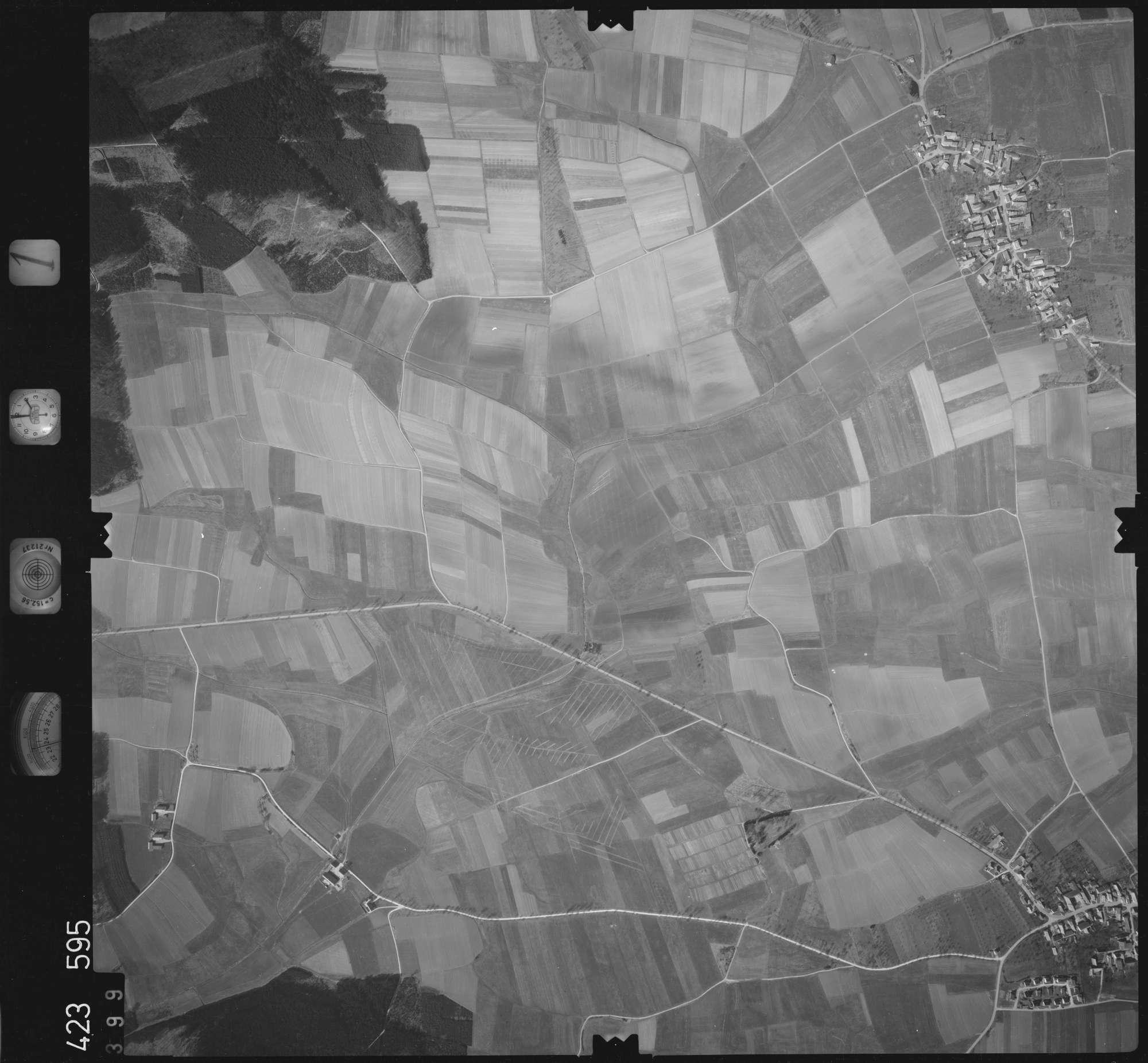 Luftbild: Film 1 Bildnr. 399, Bild 1