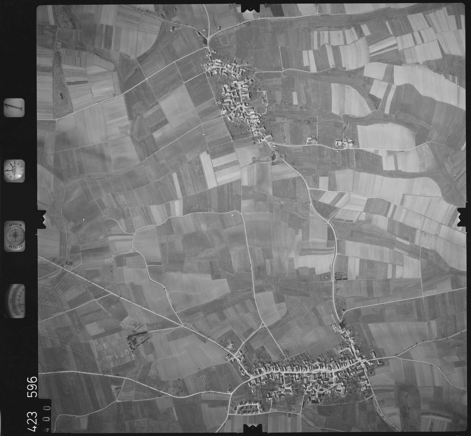 Luftbild: Film 1 Bildnr. 400, Bild 1