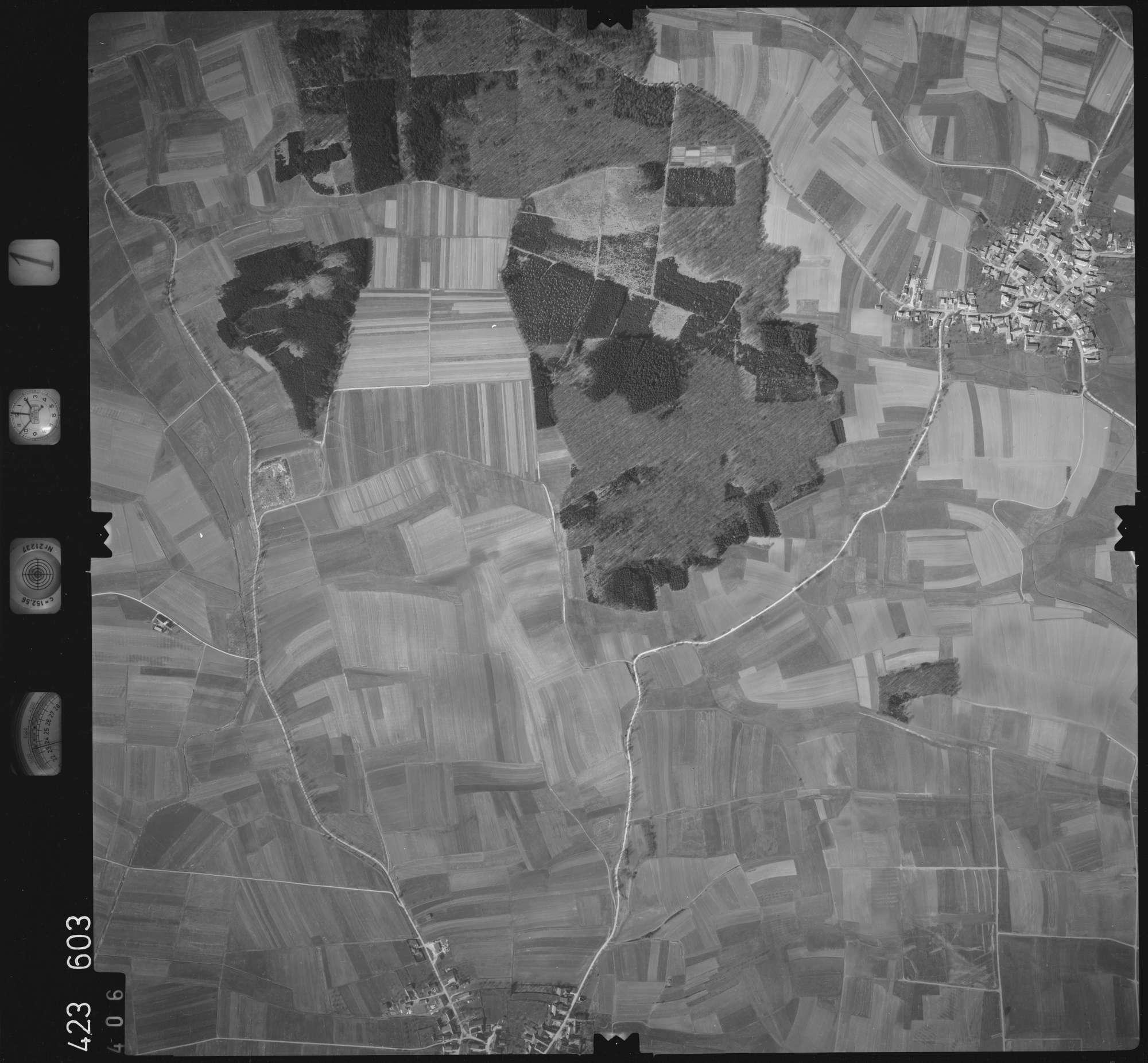 Luftbild: Film 1 Bildnr. 406, Bild 1