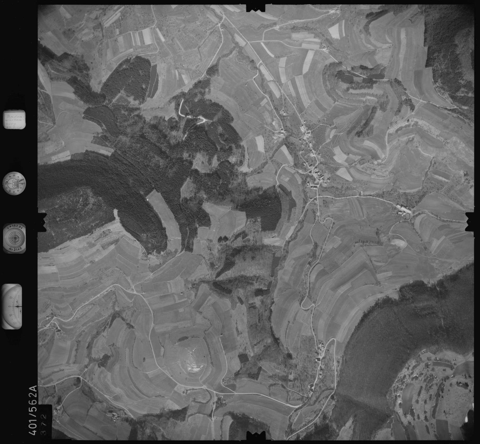 Luftbild: Film 10 Bildnr. 372, Bild 1