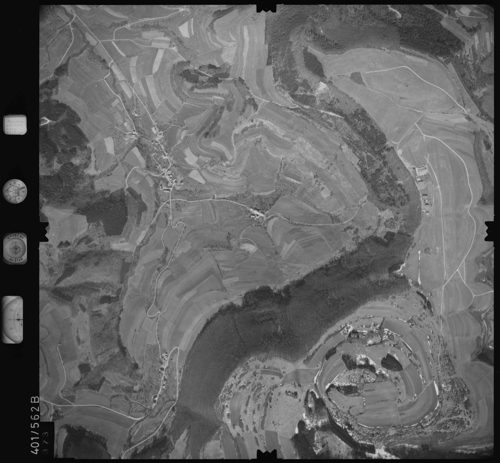 Luftbild: Film 10 Bildnr. 373, Bild 1