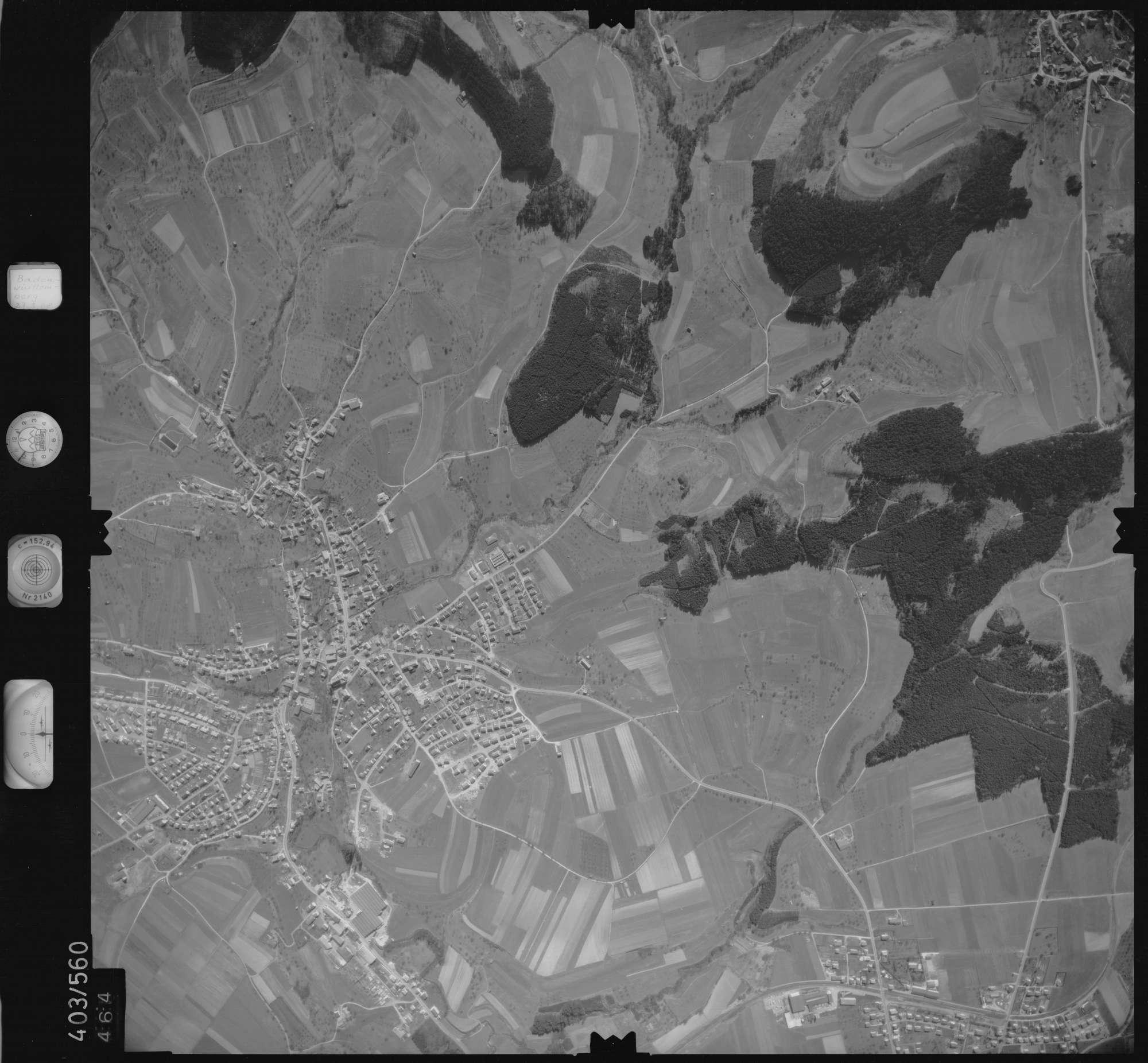 Luftbild: Film 10 Bildnr. 464, Bild 1