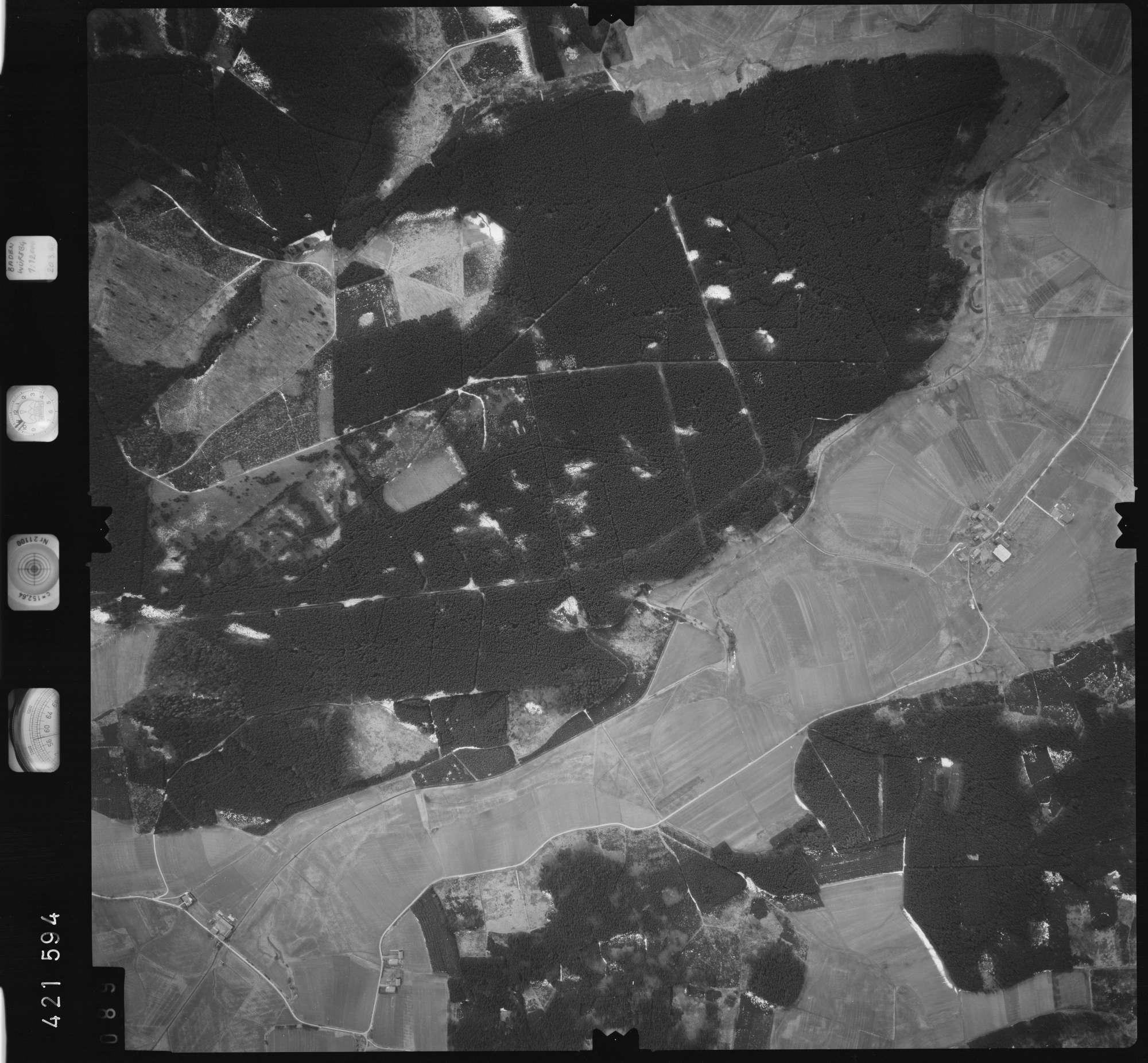 Luftbild: Film 1 Bildnr. 89, Bild 1