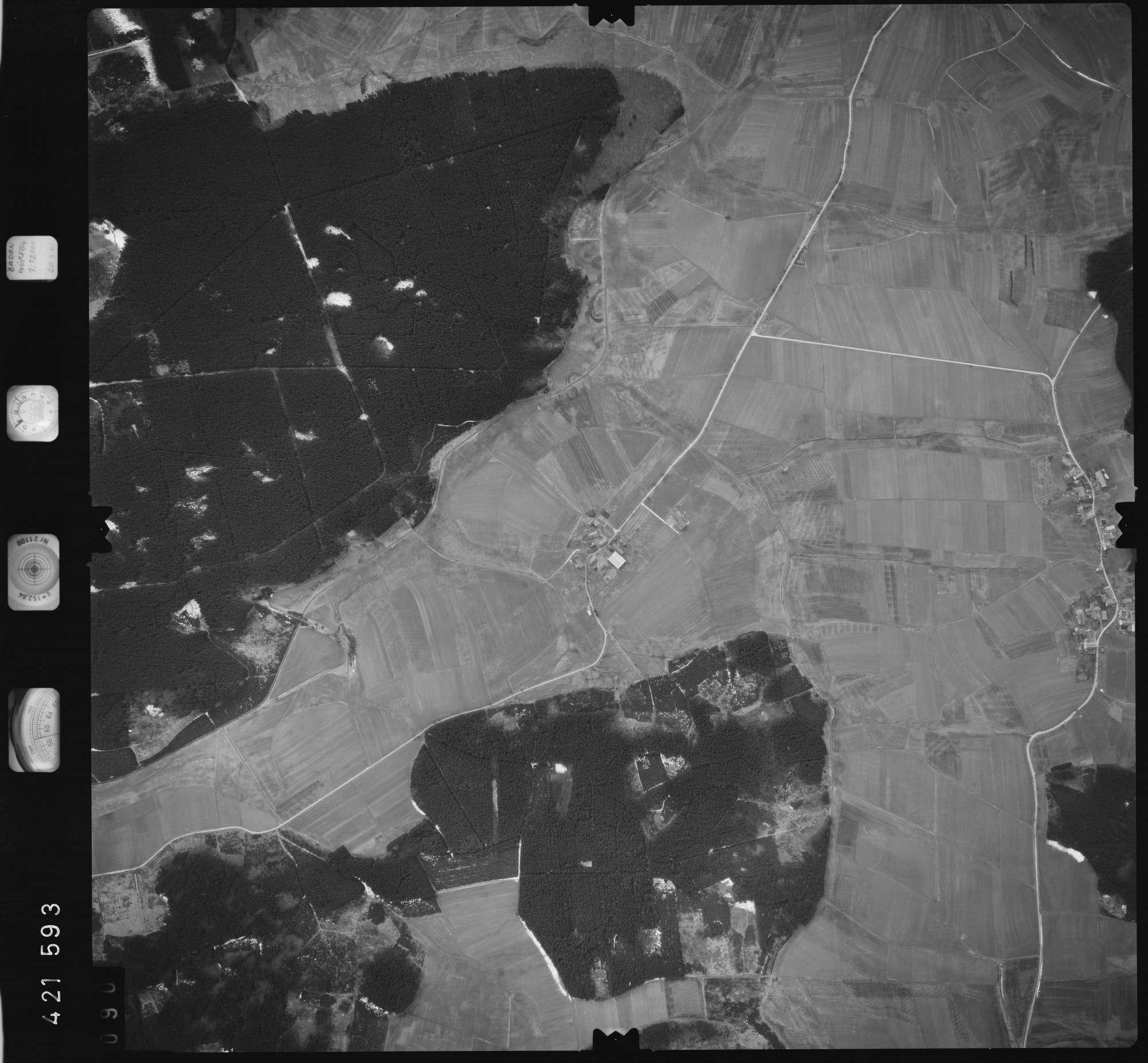Luftbild: Film 1 Bildnr. 90, Bild 1