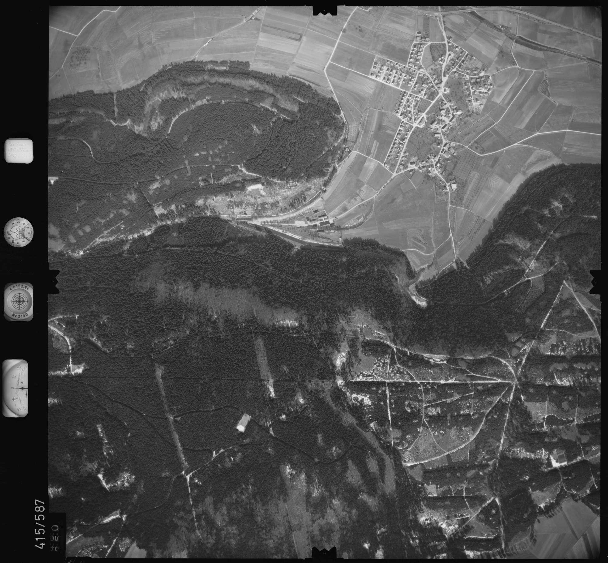 Luftbild: Film 6 Bildnr. 460, Bild 1