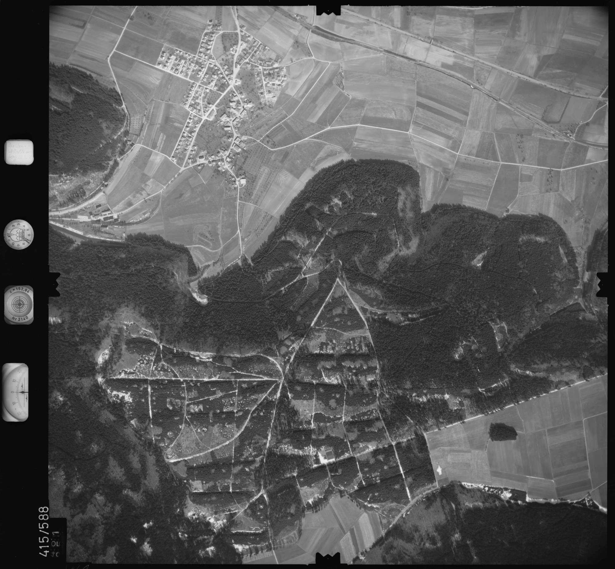 Luftbild: Film 6 Bildnr. 461, Bild 1