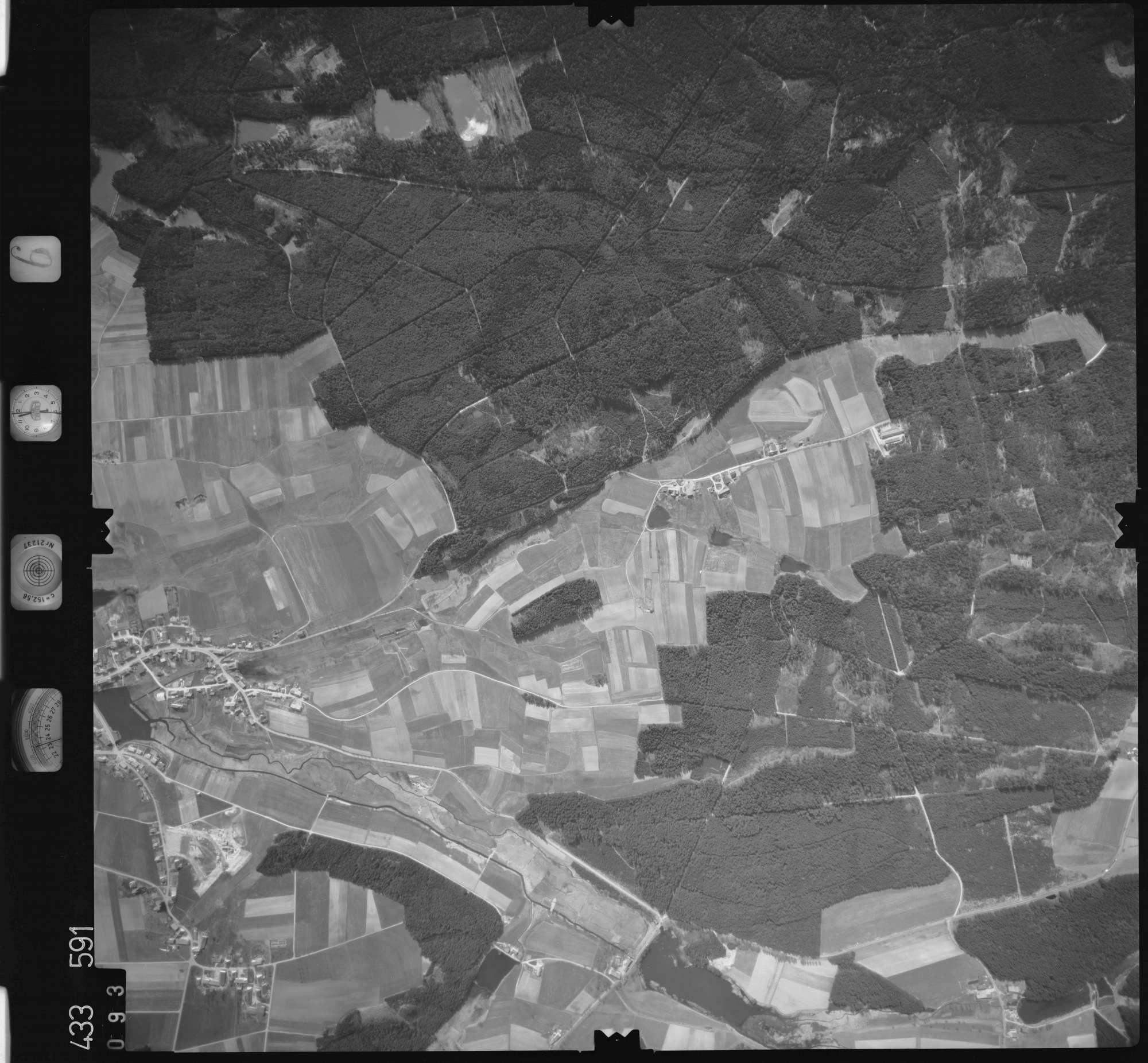 Luftbild: Film 6 Bildnr. 93, Bild 1