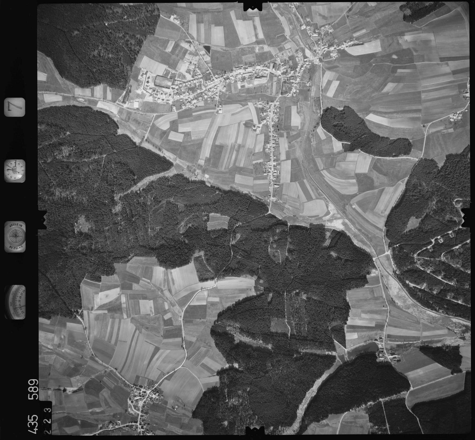 Luftbild: Film 7 Bildnr. 223, Bild 1