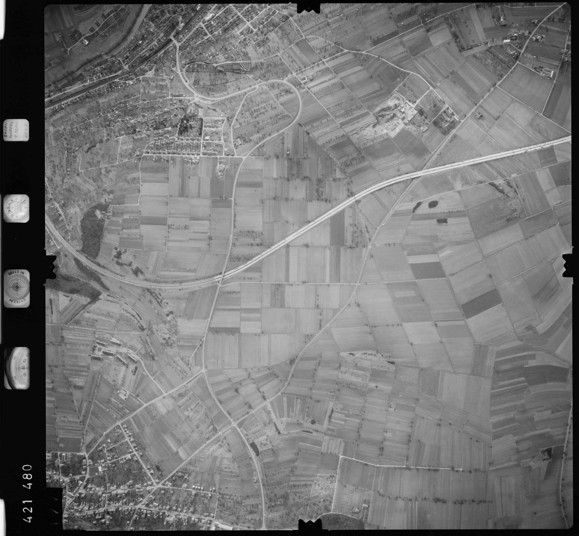 Luftbild: Film 1 Bildnr. 177, Bild 1