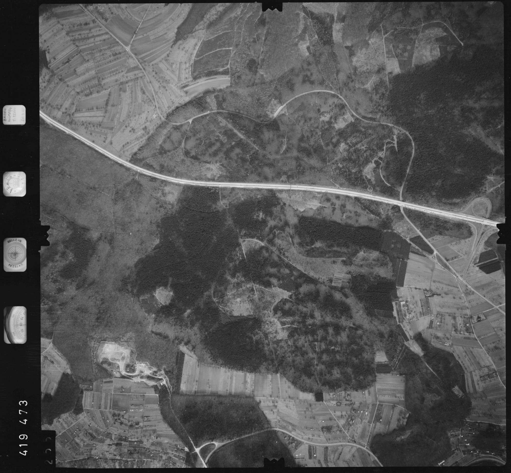 Luftbild: Film 1 Bildnr. 255, Bild 1