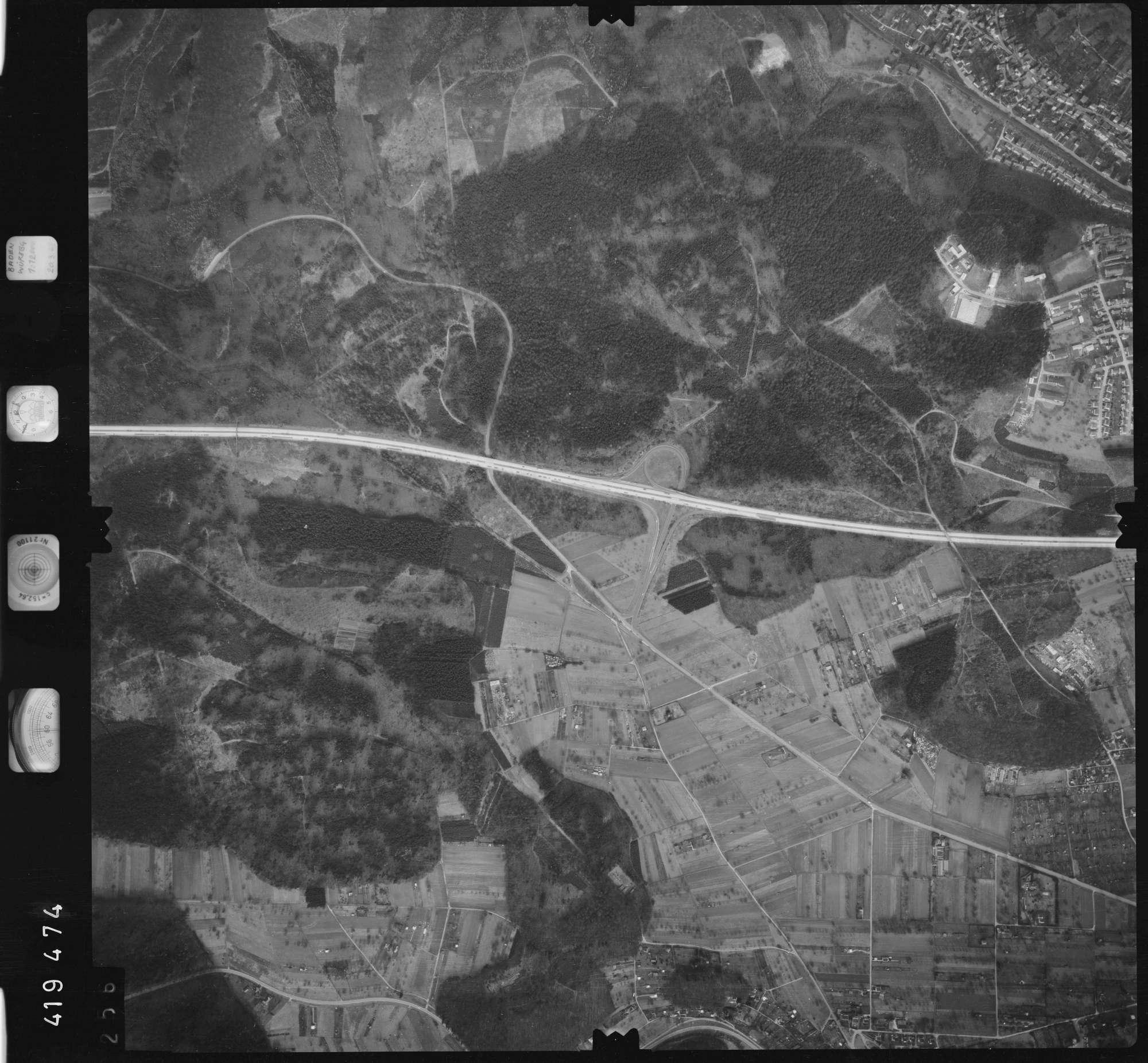 Luftbild: Film 1 Bildnr. 256, Bild 1