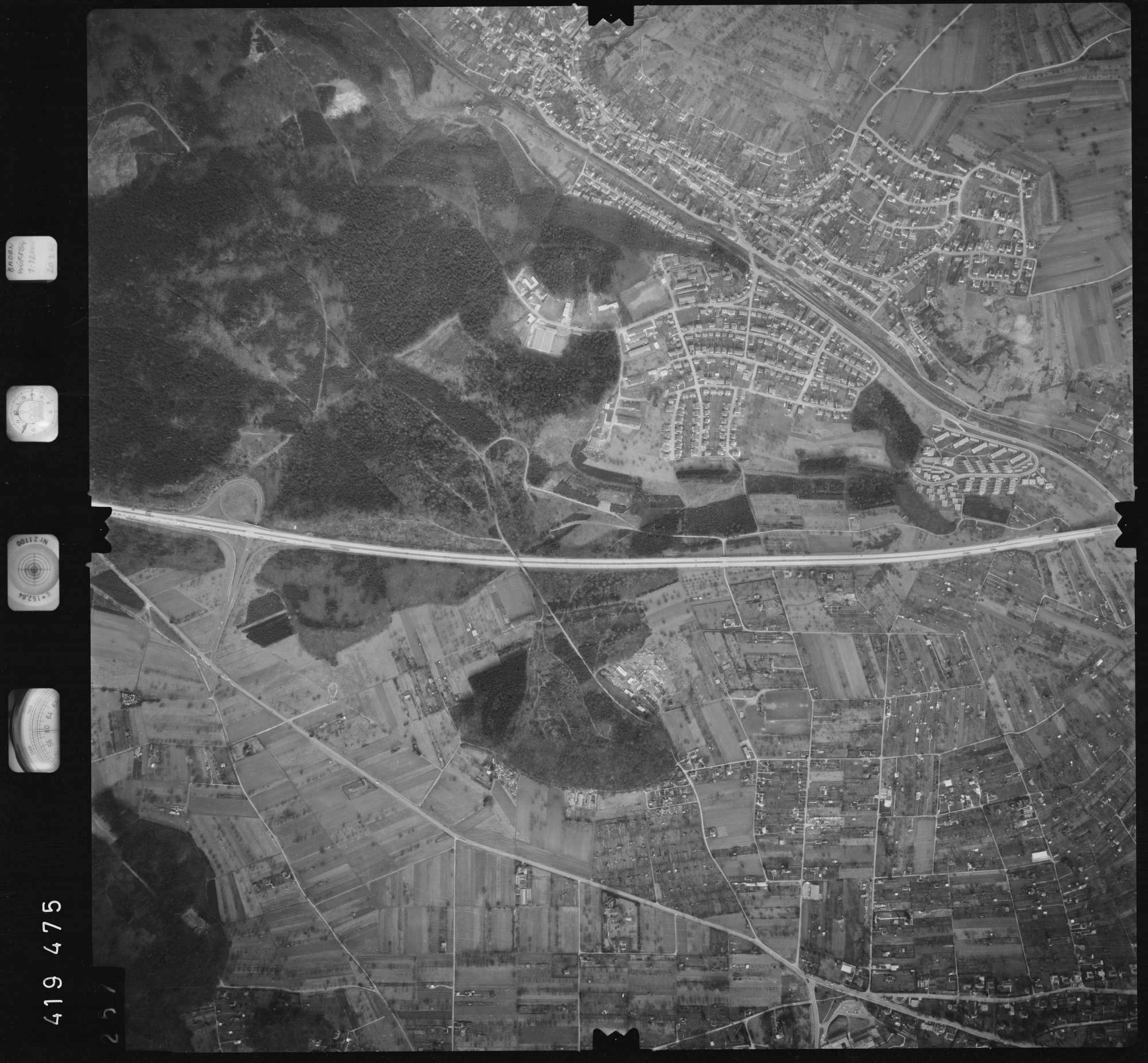 Luftbild: Film 1 Bildnr. 257, Bild 1