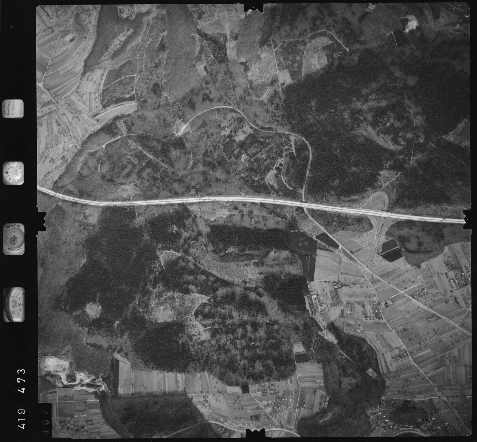 Luftbild: Film 2 Bildnr. 307, Bild 1