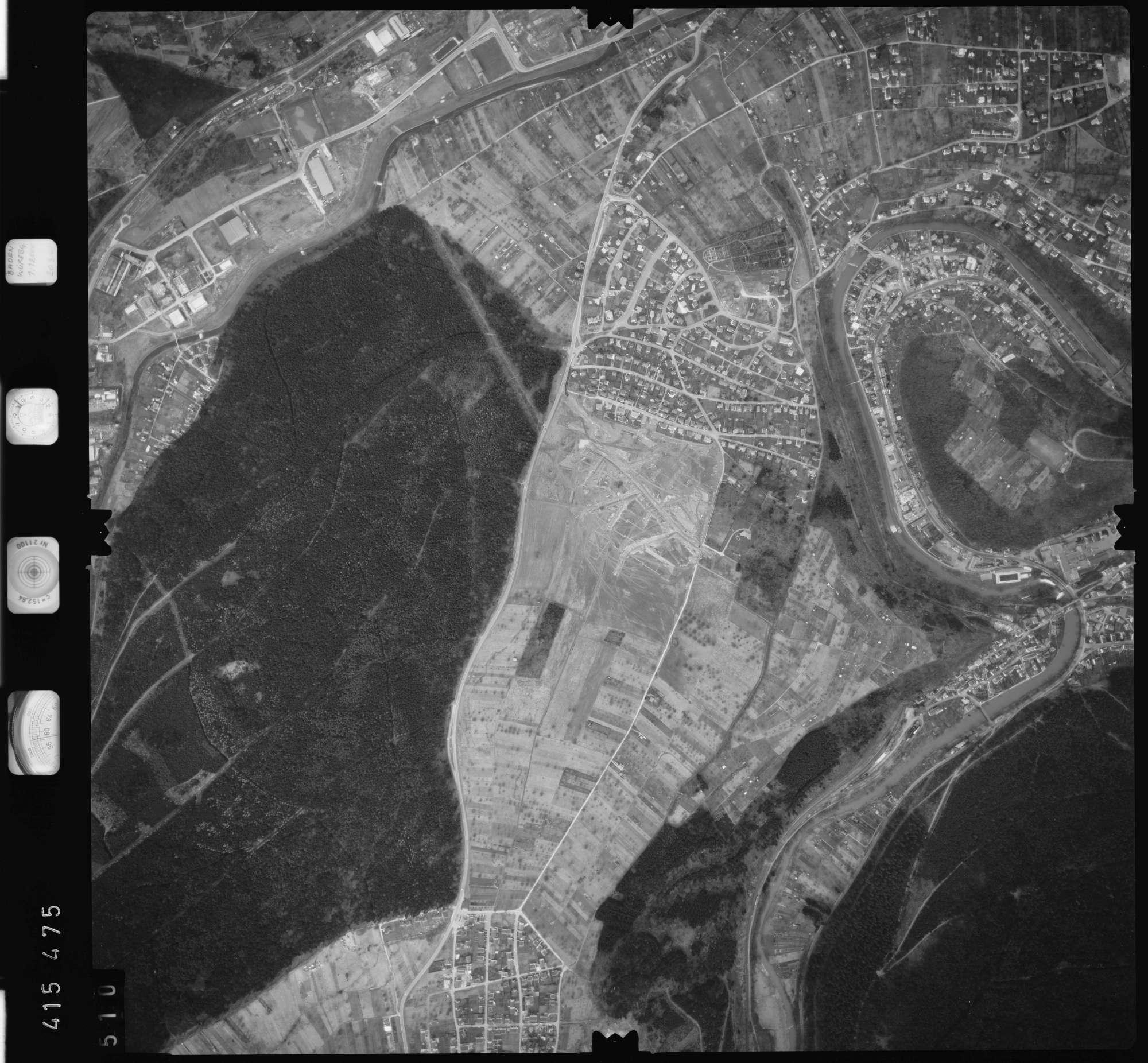 Luftbild: Film 2 Bildnr. 510, Bild 1
