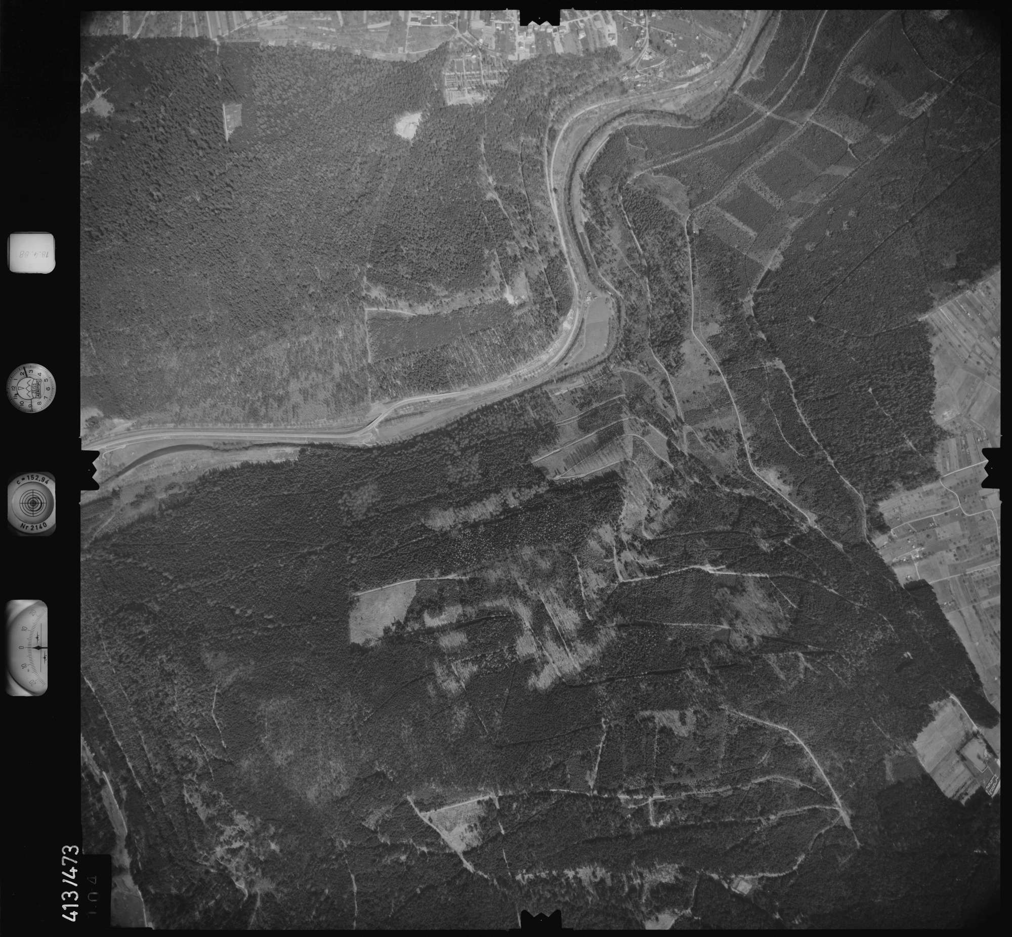 Luftbild: Film 4 Bildnr. 104, Bild 1