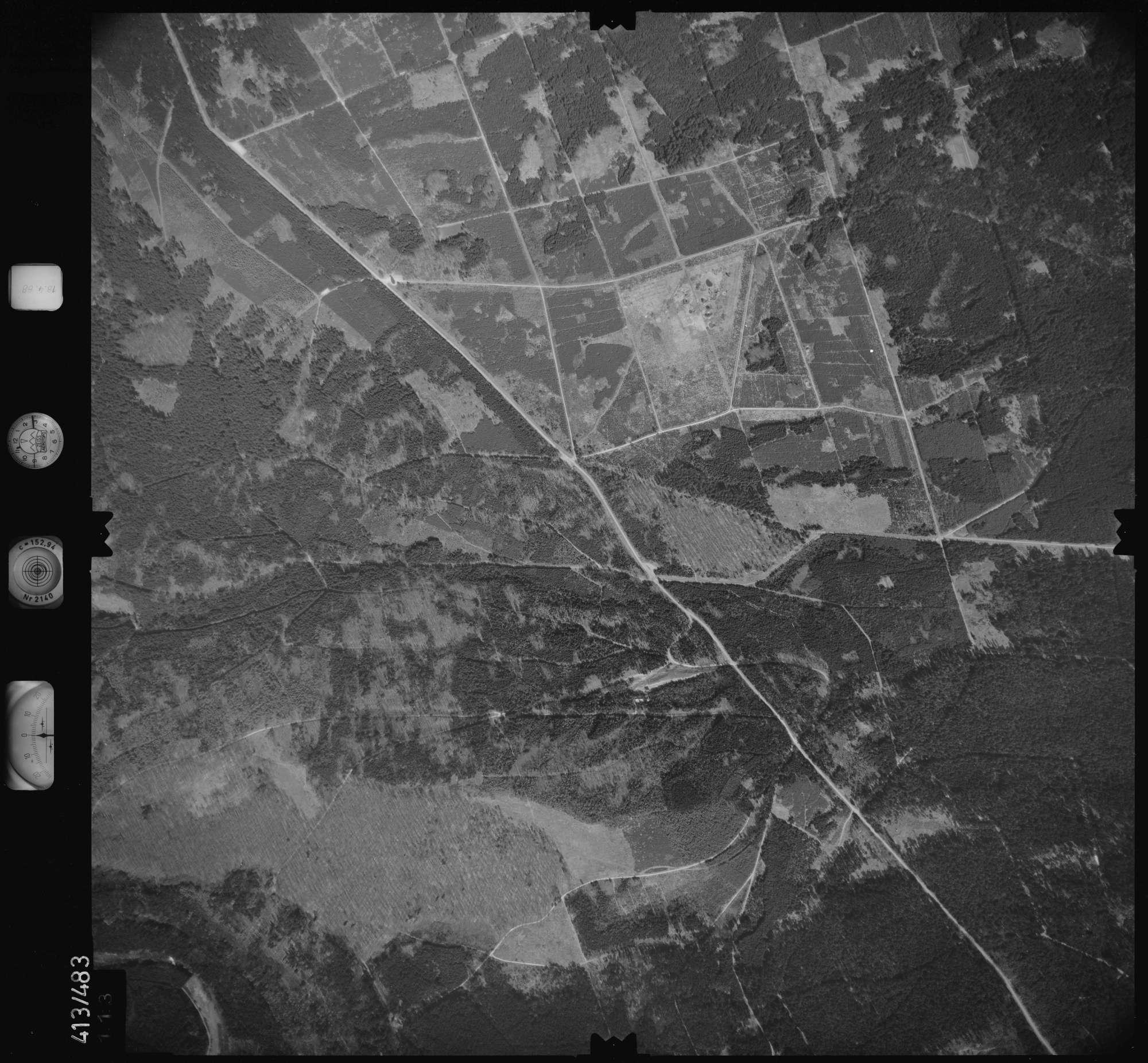 Luftbild: Film 4 Bildnr. 113, Bild 1