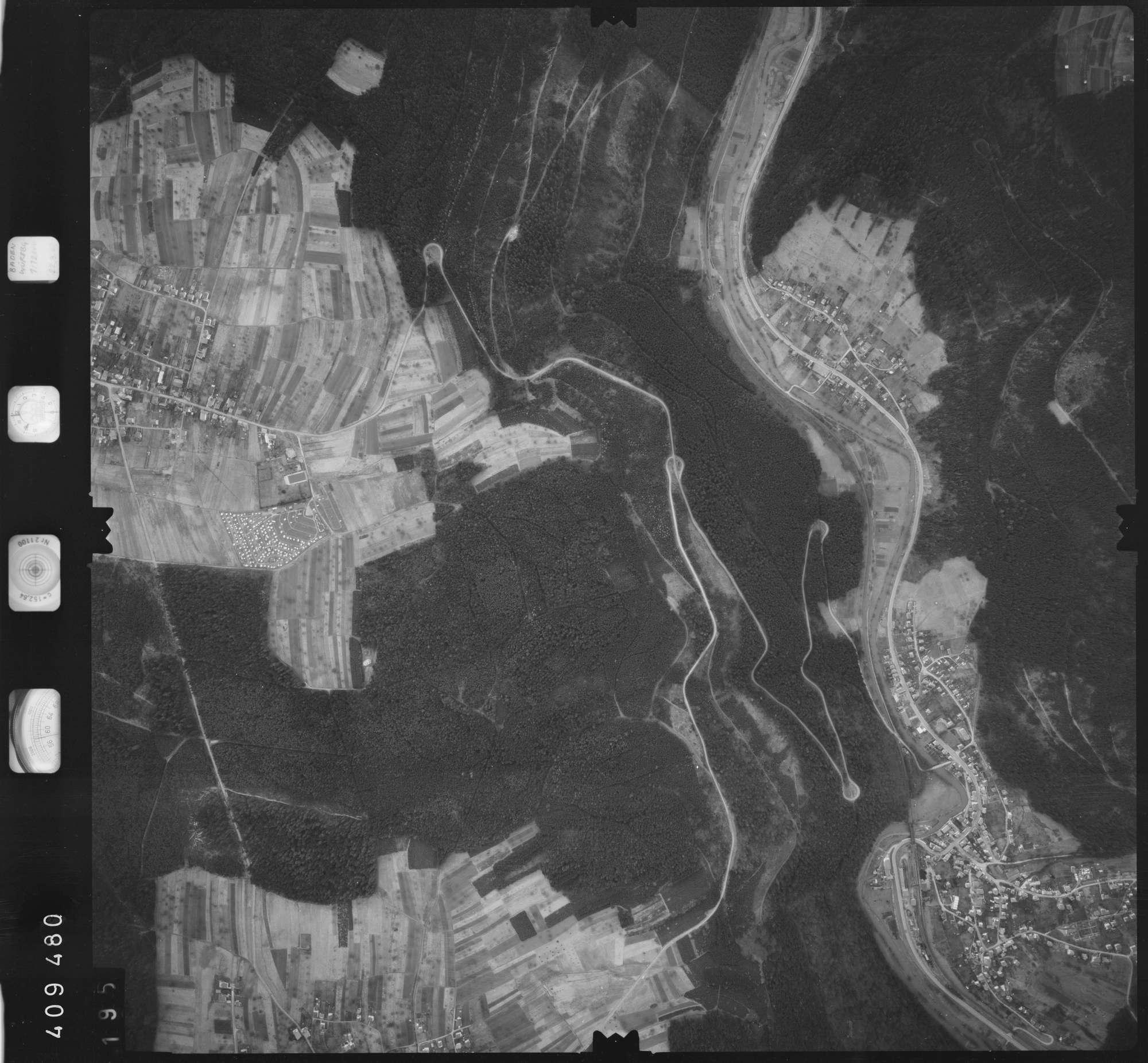 Luftbild: Film 5 Bildnr. 195, Bild 1