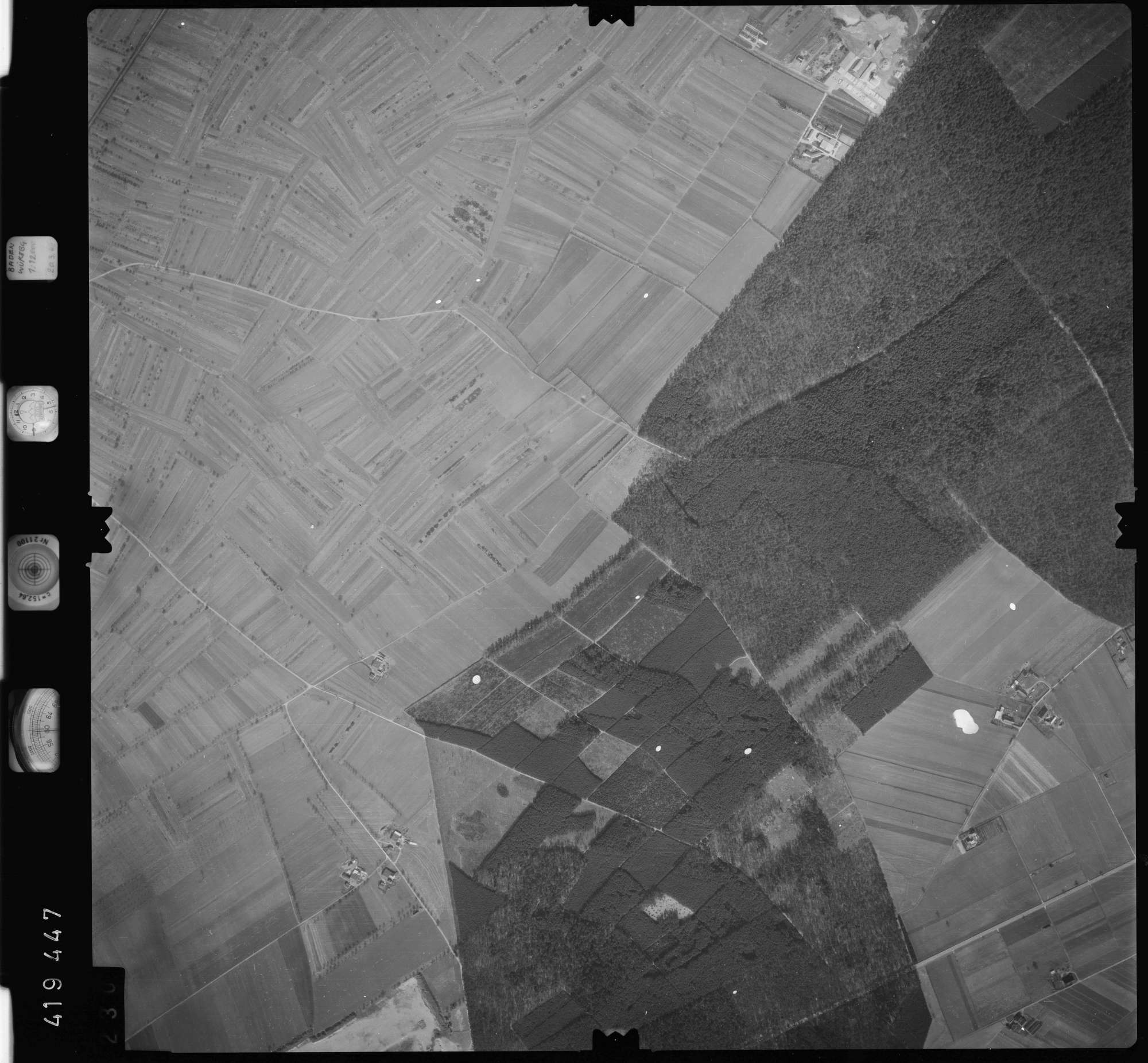 Luftbild: Film 1 Bildnr. 230, Bild 1