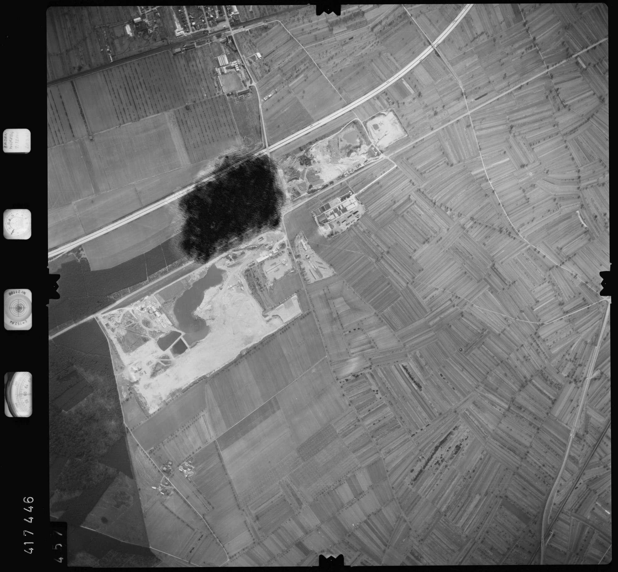 Luftbild: Film 2 Bildnr. 457, Bild 1