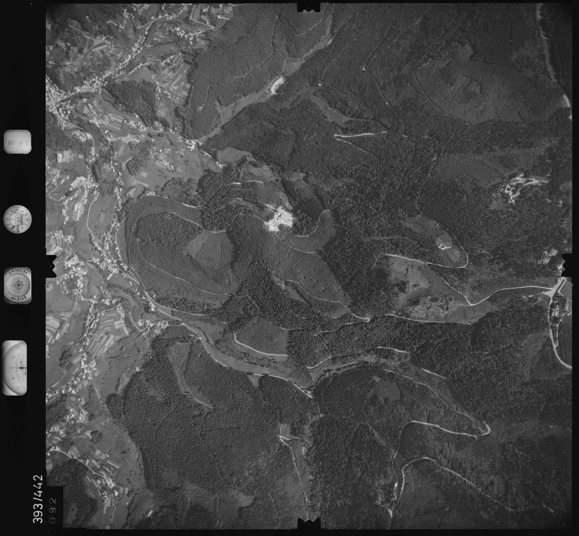 Luftbild: Film 16 Bildnr. 92, Bild 1