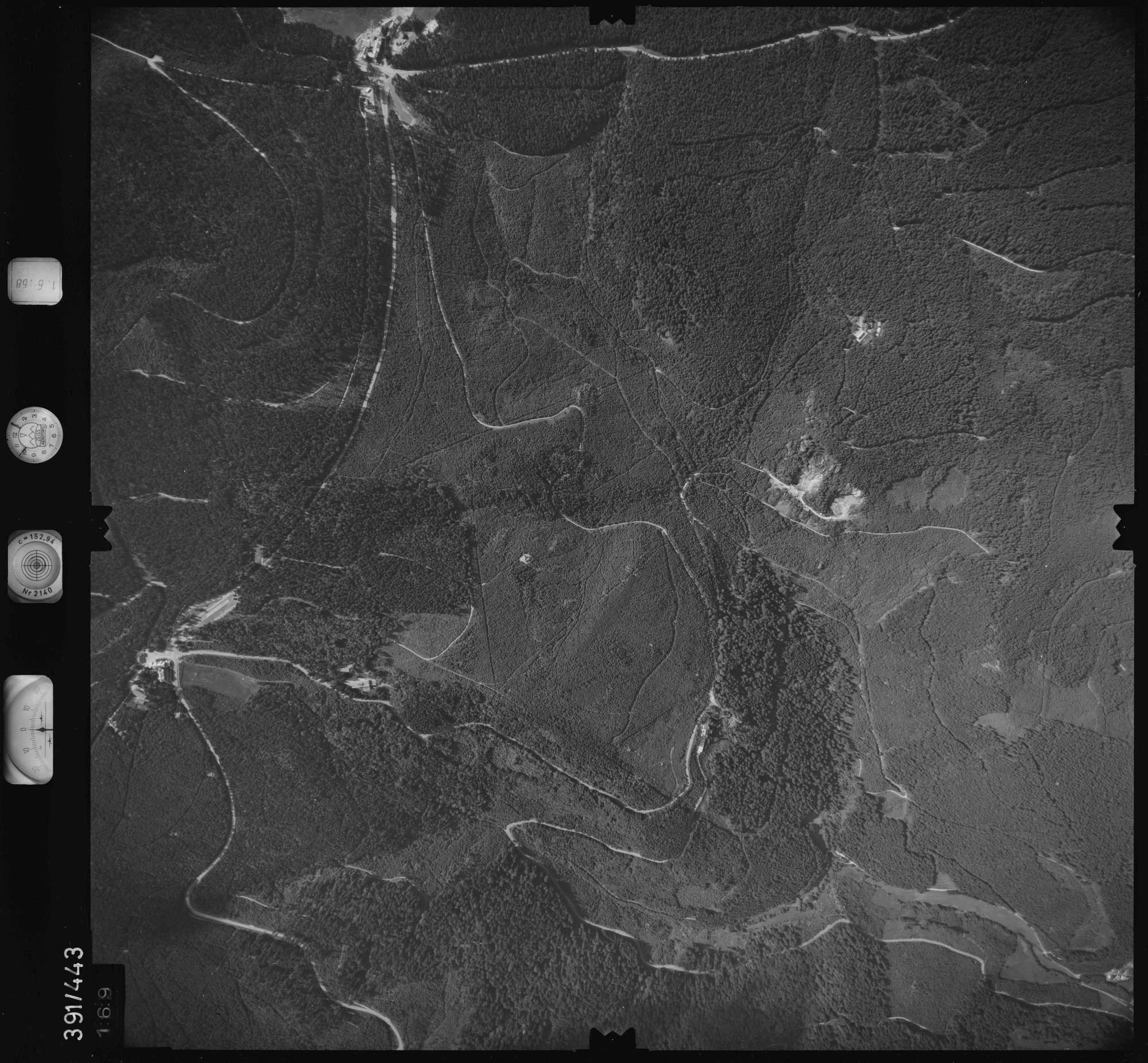 Luftbild: Film 16 Bildnr. 169, Bild 1
