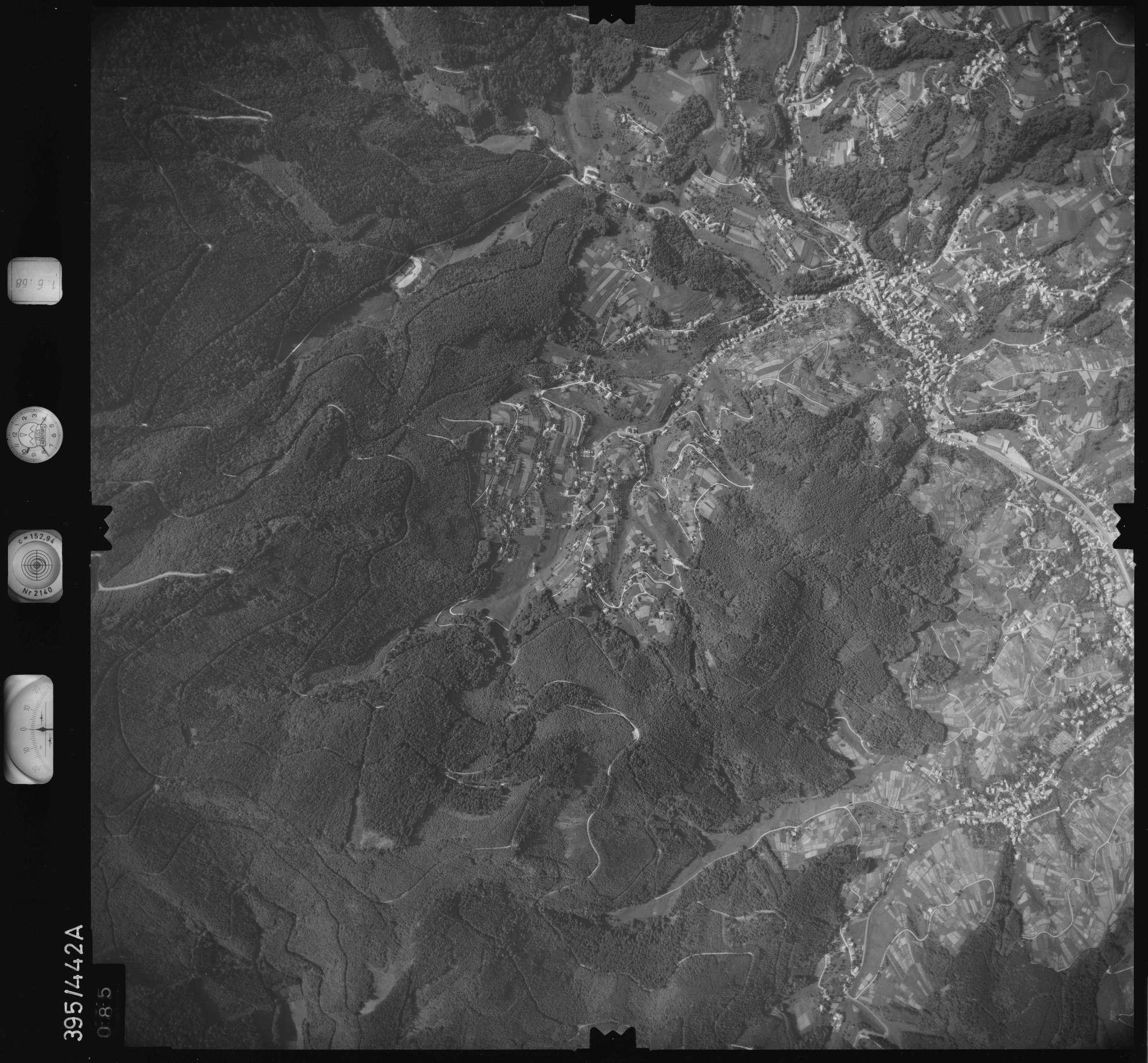 Luftbild: Film 16 Bildnr. 85, Bild 1