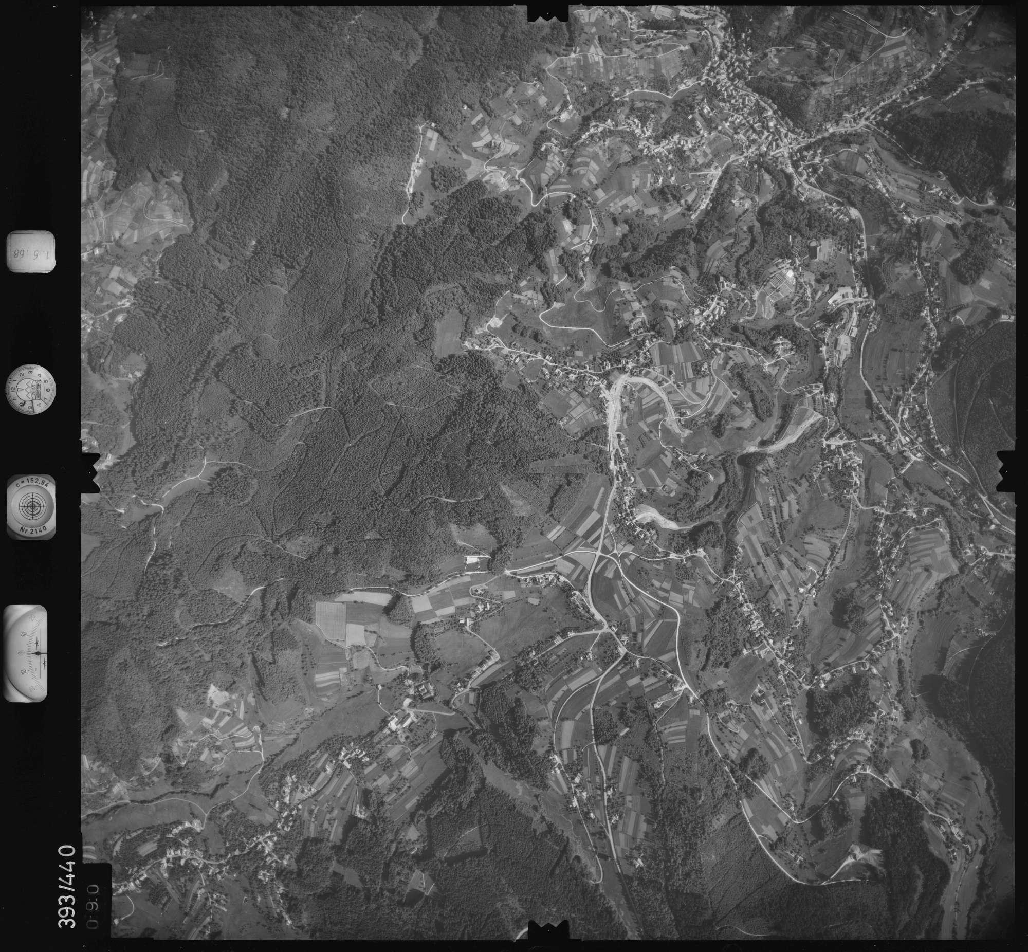 Luftbild: Film 16 Bildnr. 90, Bild 1