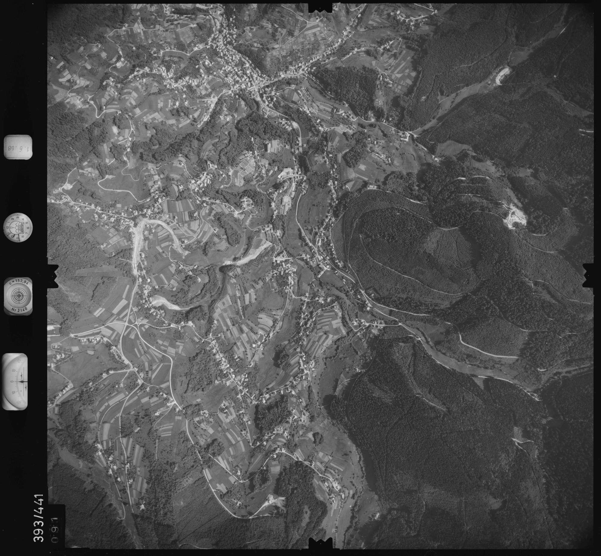 Luftbild: Film 16 Bildnr. 91, Bild 1
