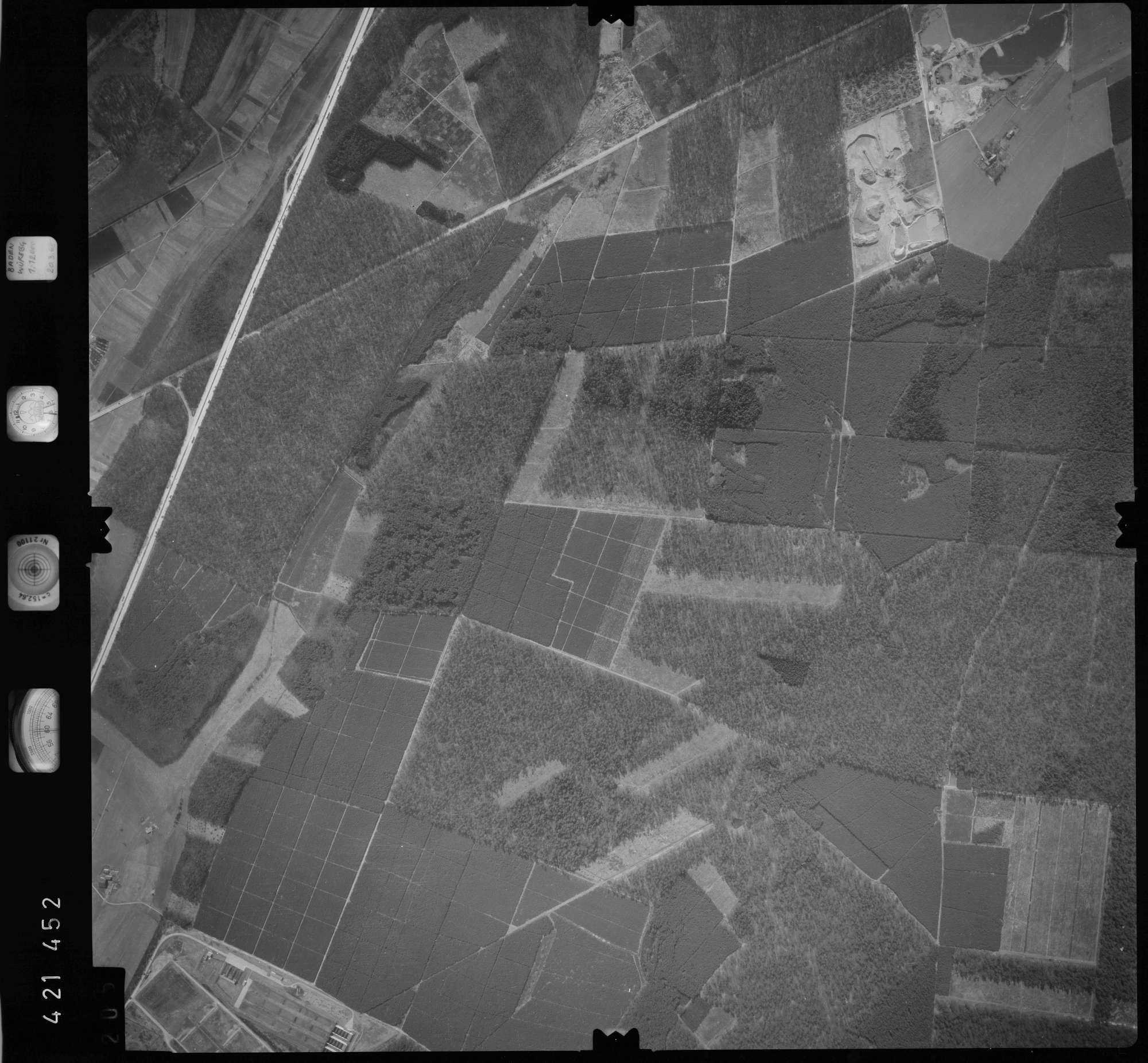 Luftbild: Film 1 Bildnr. 205, Bild 1