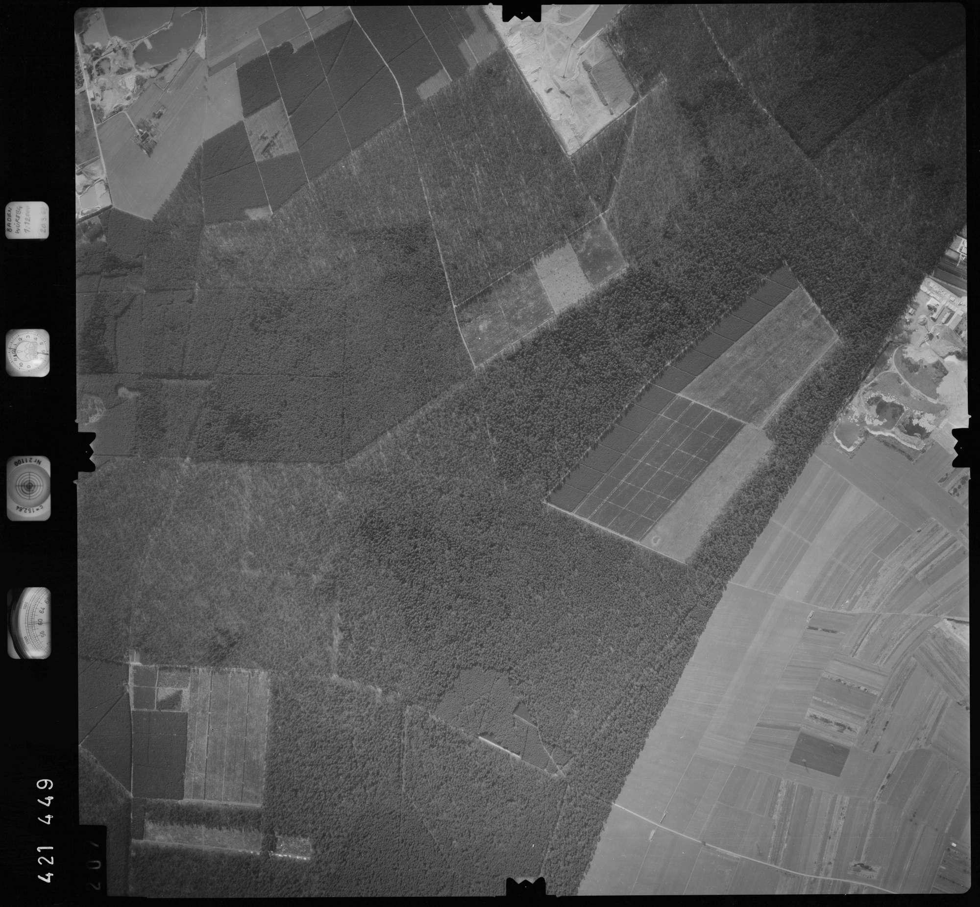Luftbild: Film 1 Bildnr. 207, Bild 1