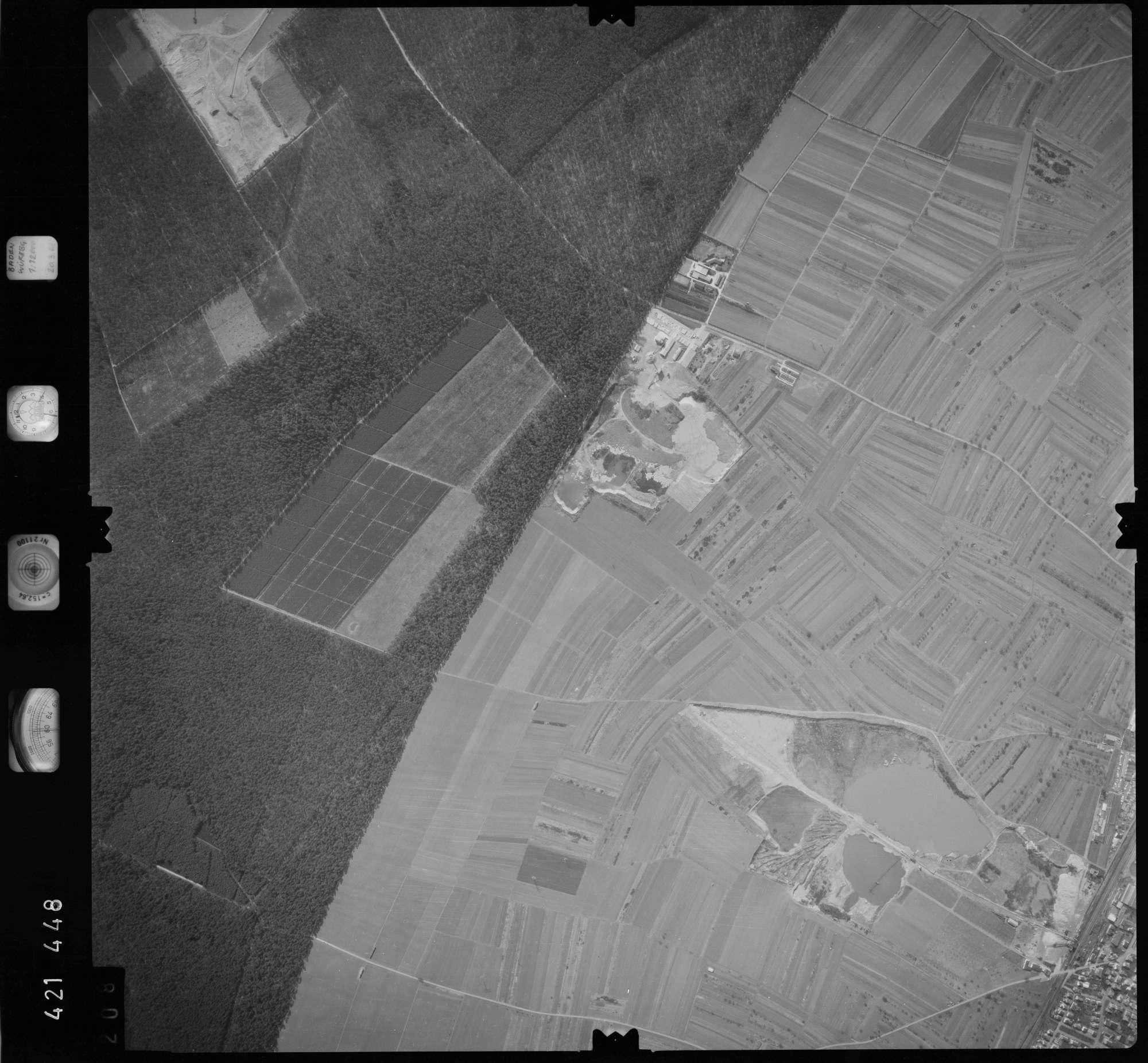 Luftbild: Film 1 Bildnr. 208, Bild 1