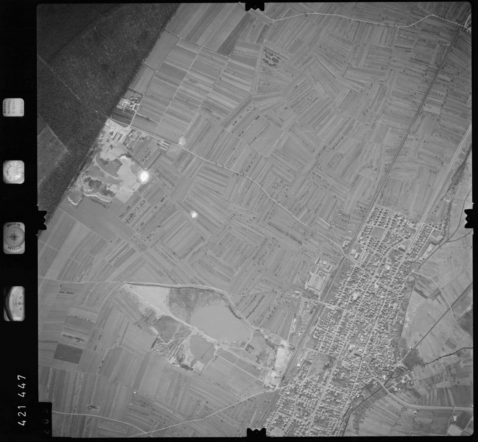 Luftbild: Film 1 Bildnr. 209, Bild 1