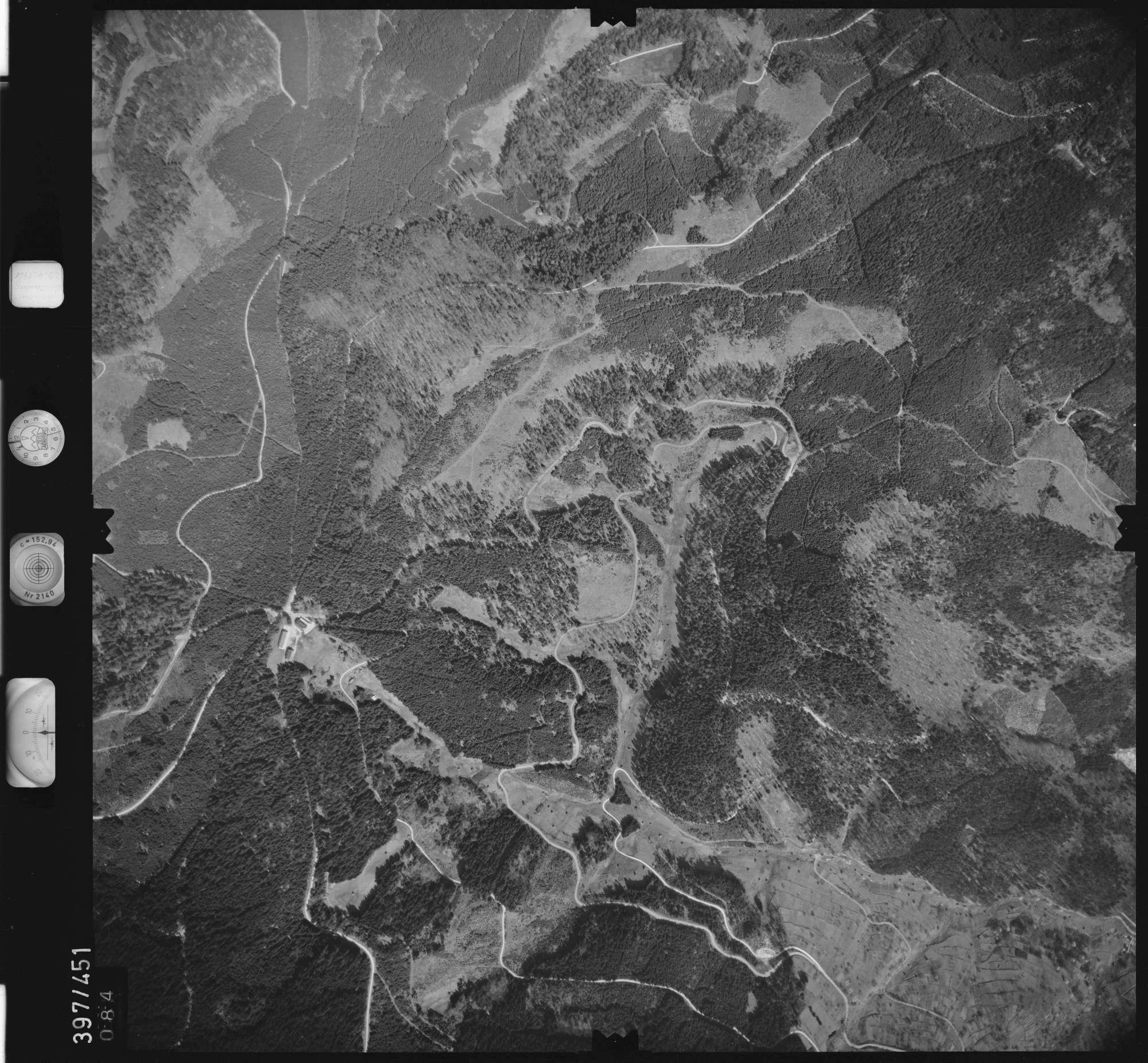 Luftbild: Film 11 Bildnr. 84, Bild 1
