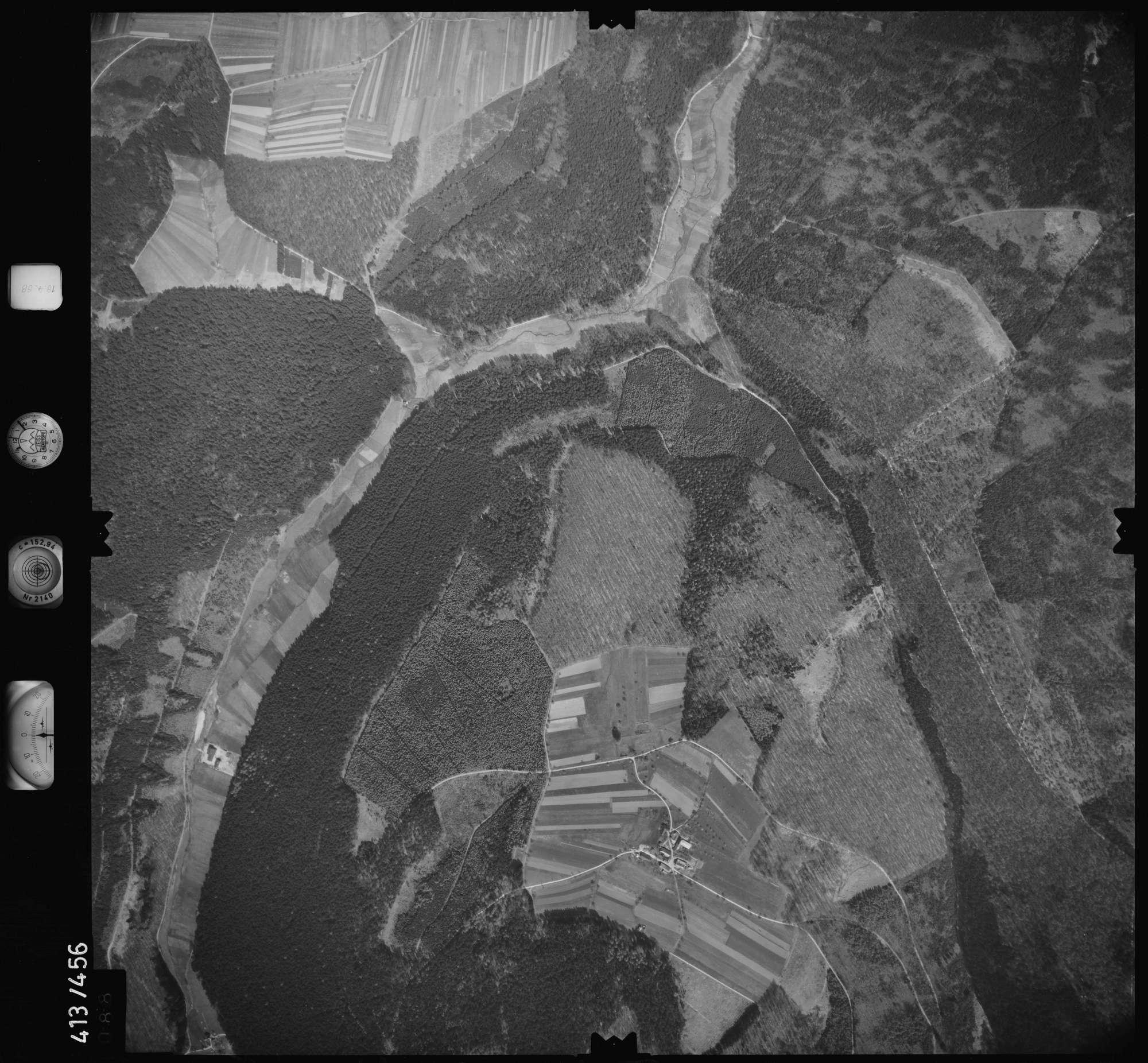 Luftbild: Film 4 Bildnr. 88, Bild 1