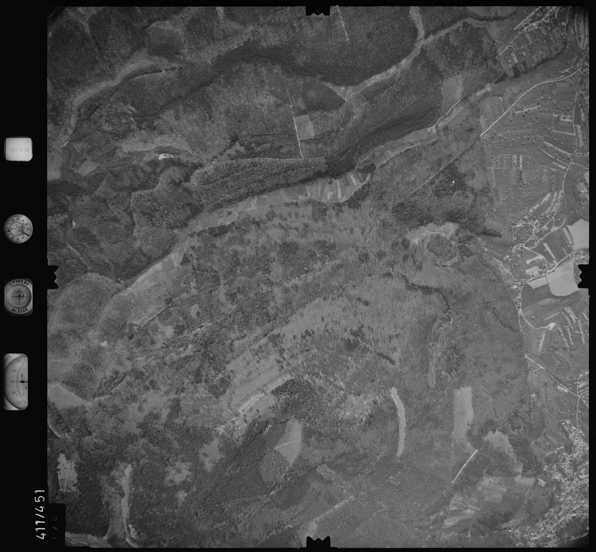 Luftbild: Film 4 Bildnr. 174, Bild 1