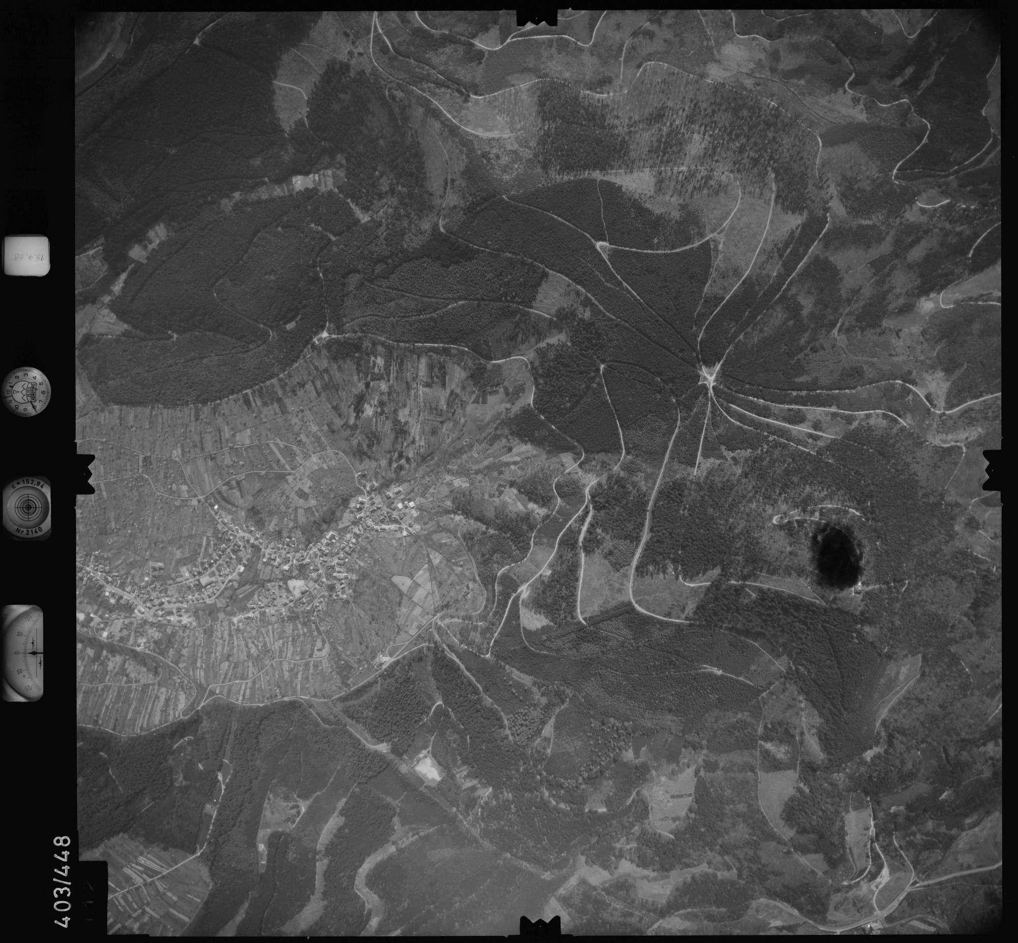 Luftbild: Film 9 Bildnr. 112, Bild 1