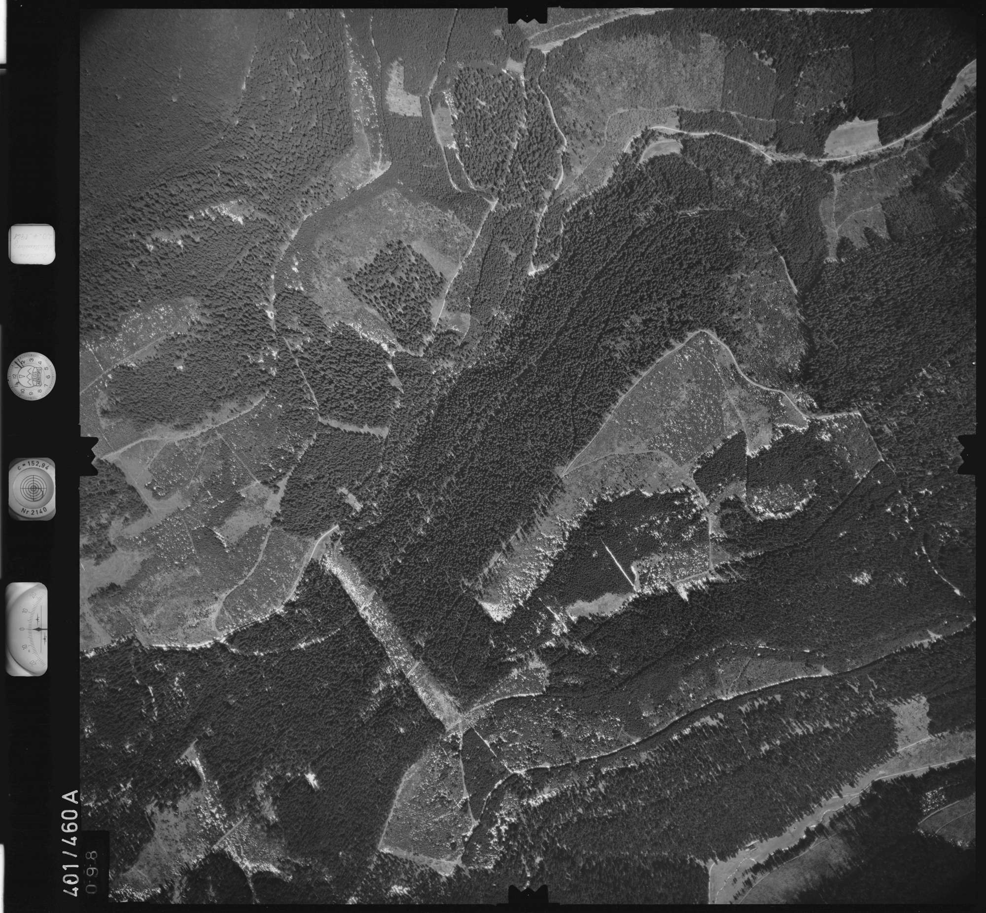 Luftbild: Film 11 Bildnr. 98, Bild 1