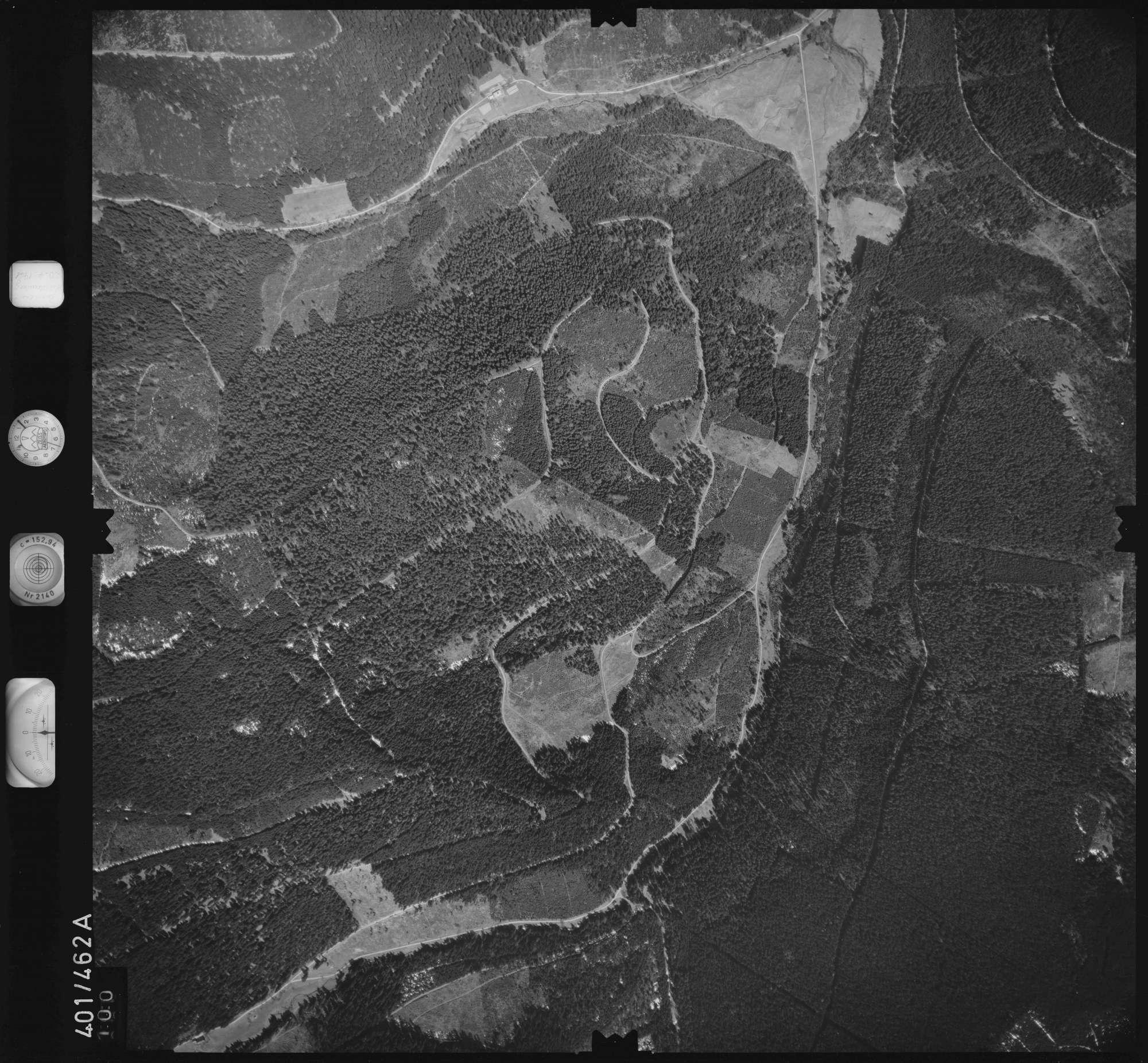 Luftbild: Film 11 Bildnr. 100, Bild 1
